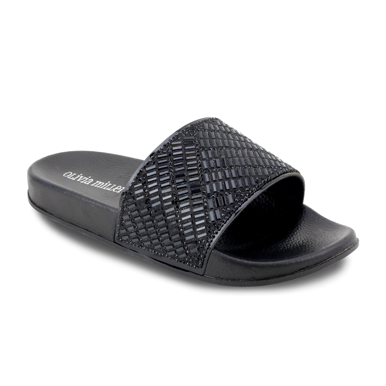 Olivia Miller Daytona Women's ... Slide Sandals NJYvY6a0zs