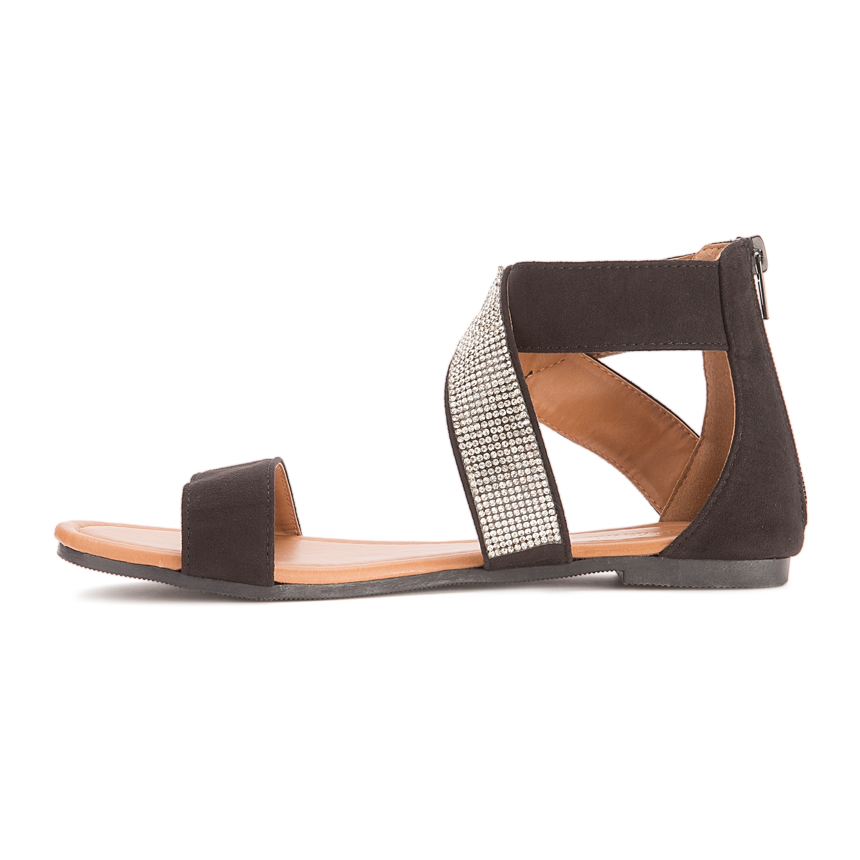 ff2a64c6df308 Shop Olivia Miller  Labelle  Multi Rhinestone Strap Sandals - Free Shipping  On Orders Over  45 - Overstock - 20338692