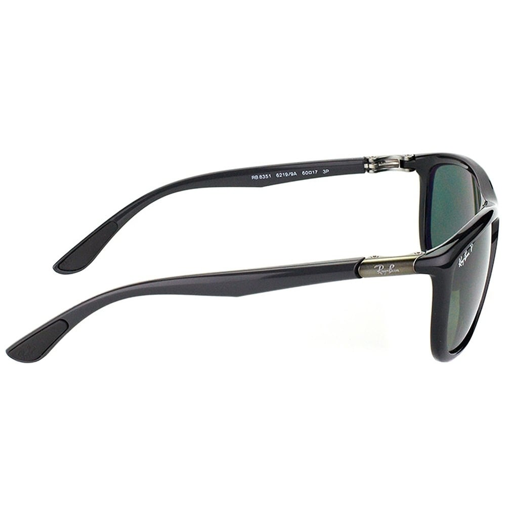 1ed04229cd4 Shop Ray-Ban Sport RB 8351 62199A Unisex Black Frame Green Polarized Lens  Sunglasses - On Sale - Free Shipping Today - Overstock - 20341457