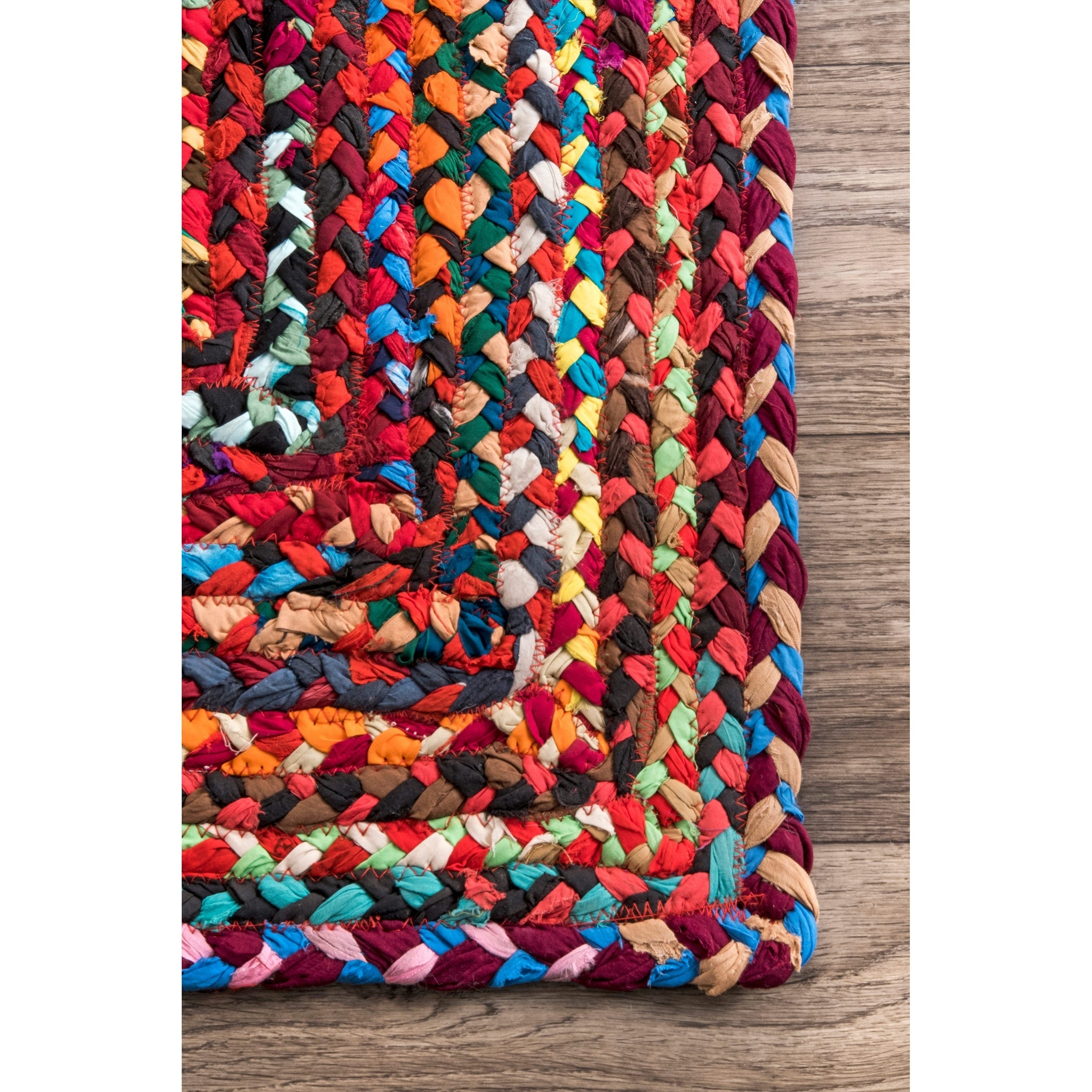 The Curated Nomad Grove Handmade Braided Rug 7 6 X 9 On Free Shipping Today 20352113