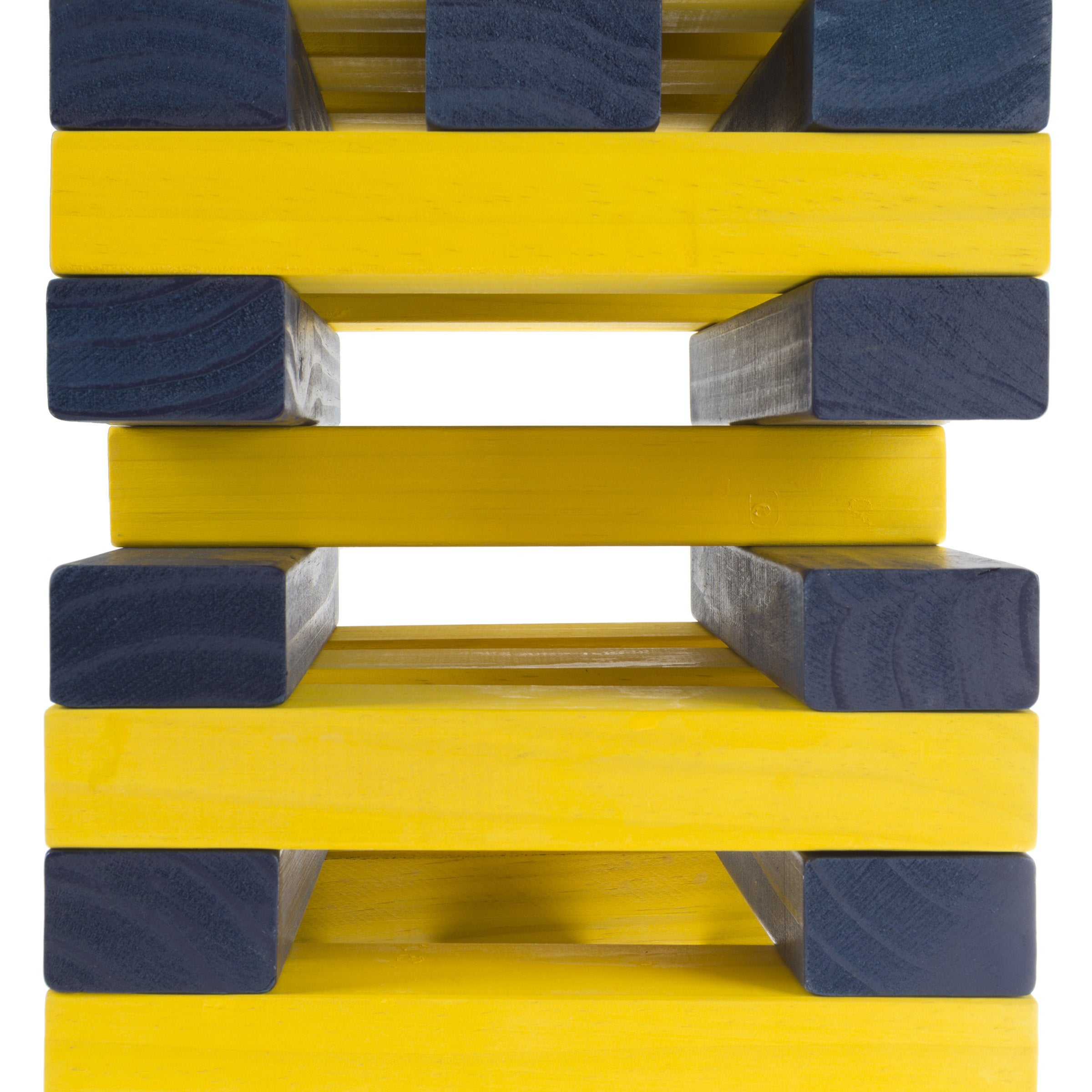 Outdoor Yard Giant Wooden Blocks Tower Stacking Game By Hey Play