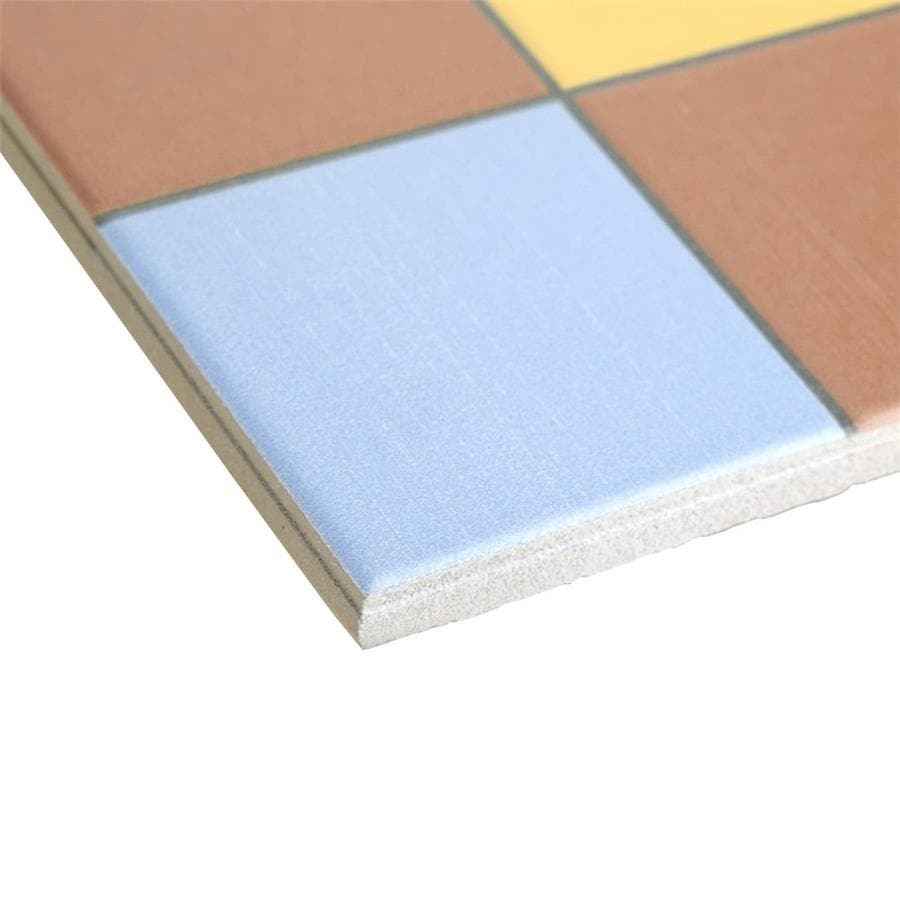 Shop SomerTile 9.75x9.75-inch Kensington Derby Green Porcelain Floor ...