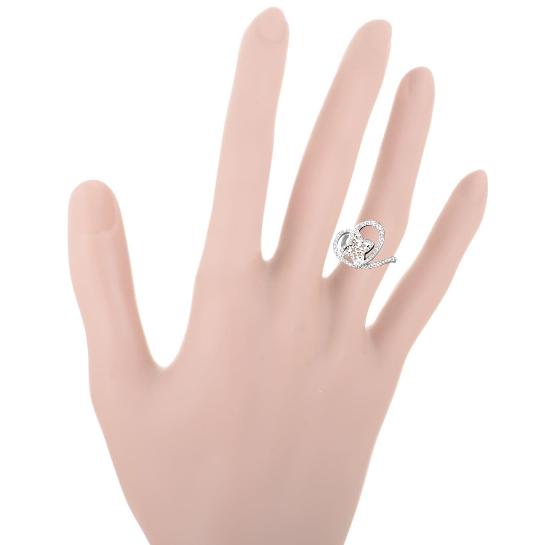 Shop Louis Vuitton Idylle Blossom Women\'s White Gold Diamond Heart ...