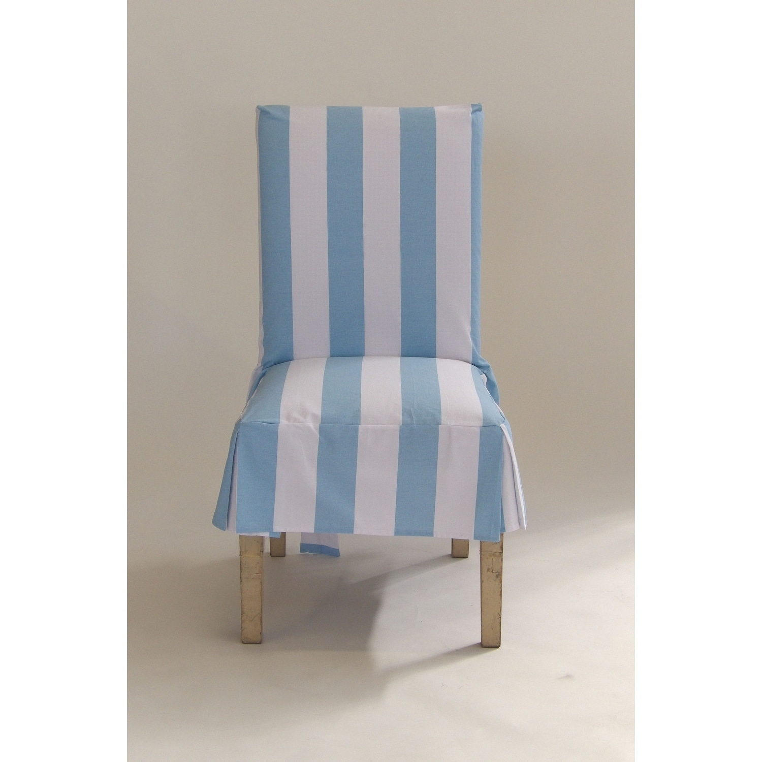 Shop Classic Slipcovers Cabana Stripe Short Dining Chair Covers Set Of 2    Free Shipping On Orders Over $45   Overstock.com   20362305