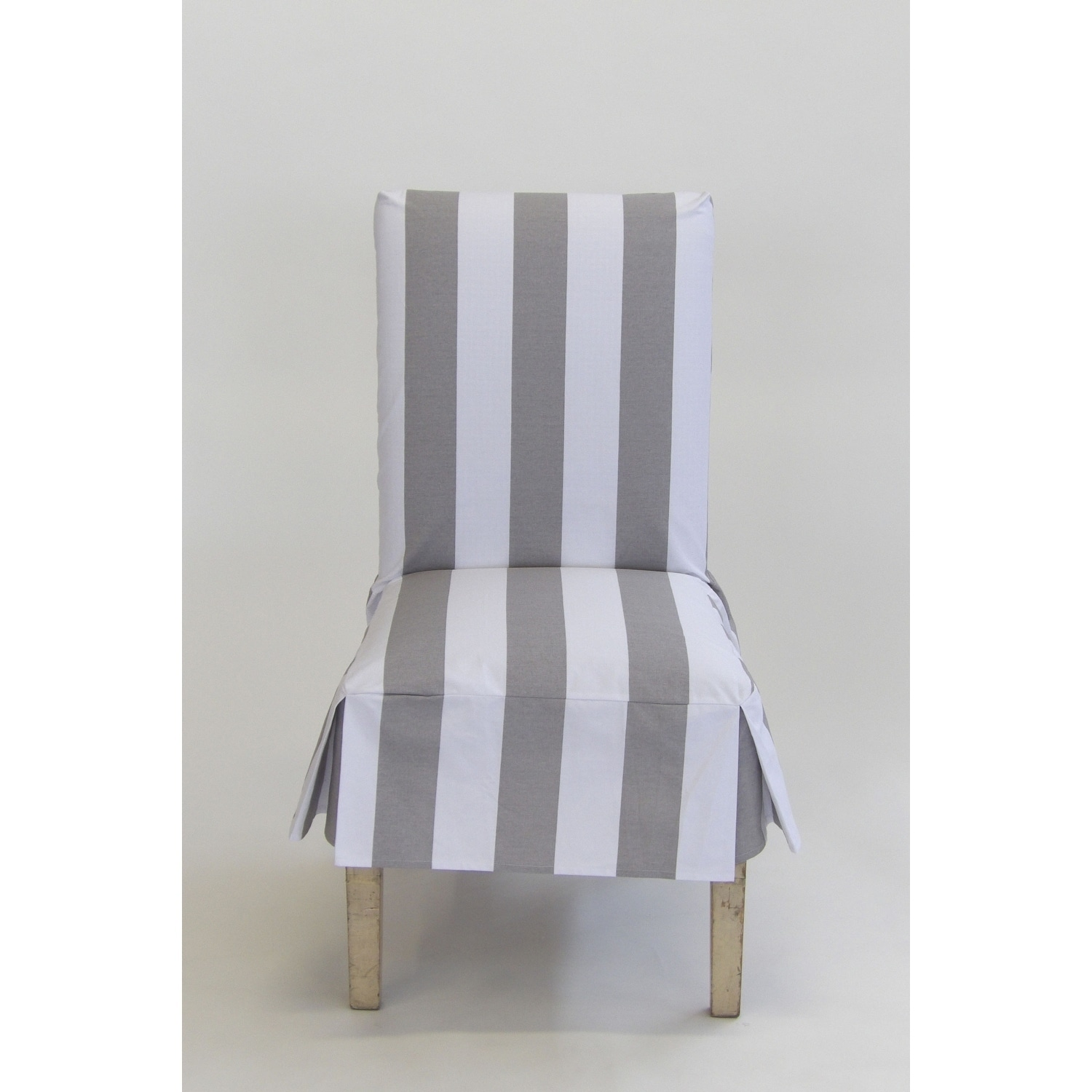 Clic Slipcovers Cabana Stripe Short Dining Chair Covers Set Of 2 Free Shipping On Orders Over 45 20362305