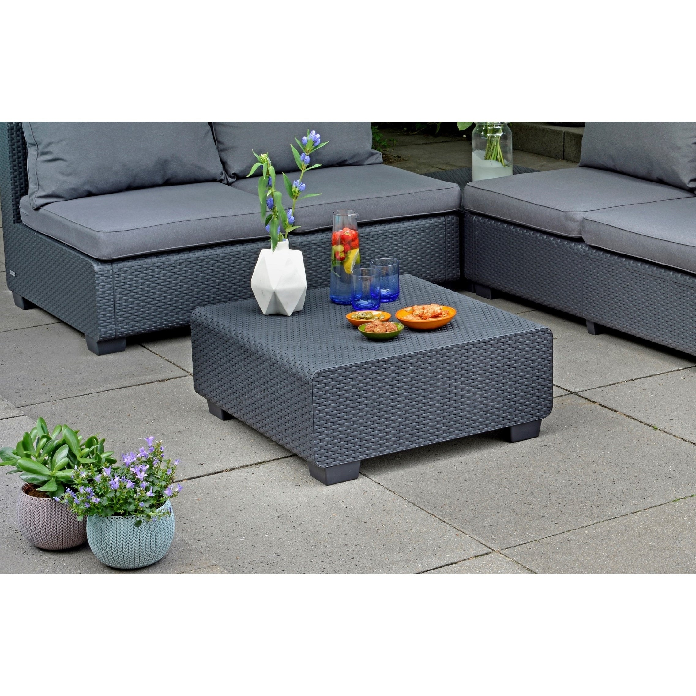 pcs cushions gradient set cloud brown loveseat furniture outdoor products with df inc patio mountain