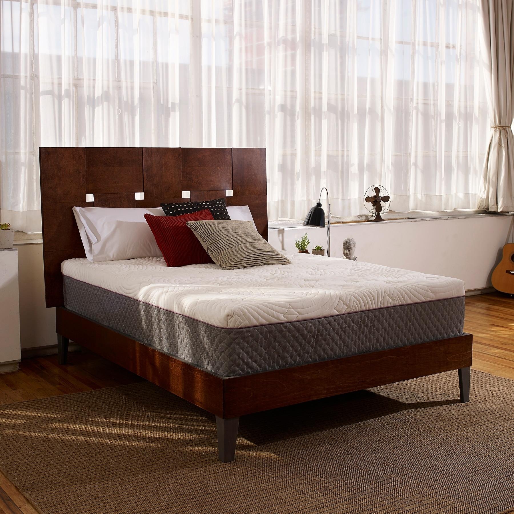 shop dreamaway gramercy 12-inch memory foam mattress - queen - on