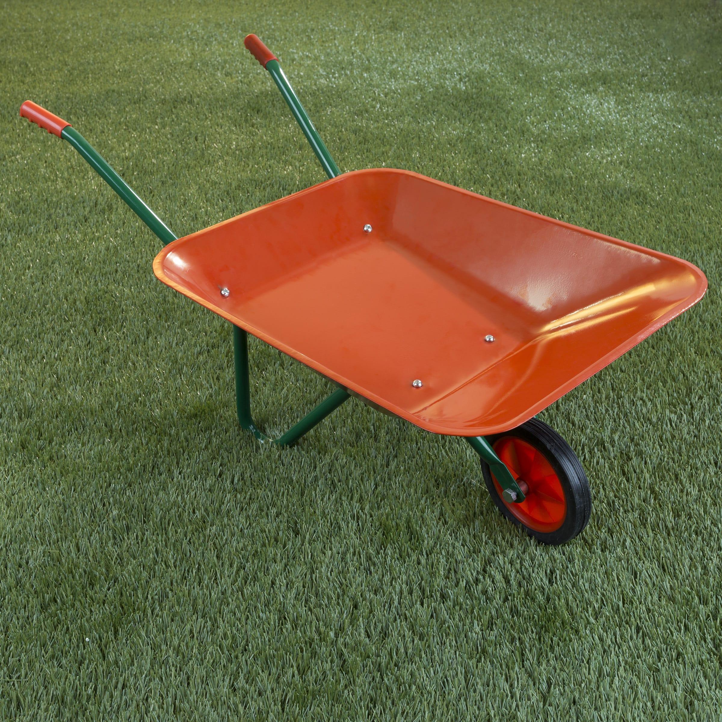 Shop Kidsu0027 Gardening Wheelbarrow   Free Shipping On Orders Over $45    Overstock.com   20378271