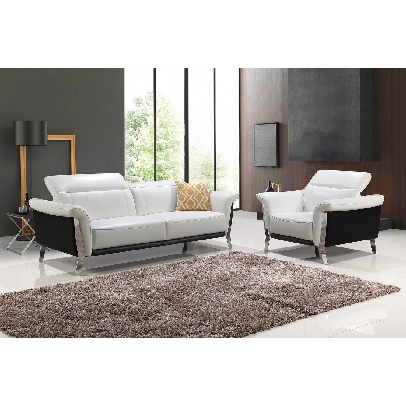 6862d8ee2724 Shop Best Master Furniture Black/ White 3 Pieces Set - Free Shipping Today  - Overstock - 20378499