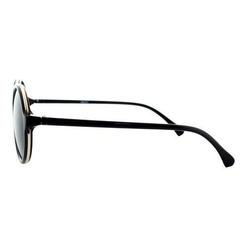 5dc19d80319e9 Shop Men s SWG Sleek Retro Round Frame Sunglasses SWGFTP9737 Black Gold - Free  Shipping On Orders Over  45 - Overstock - 18021015