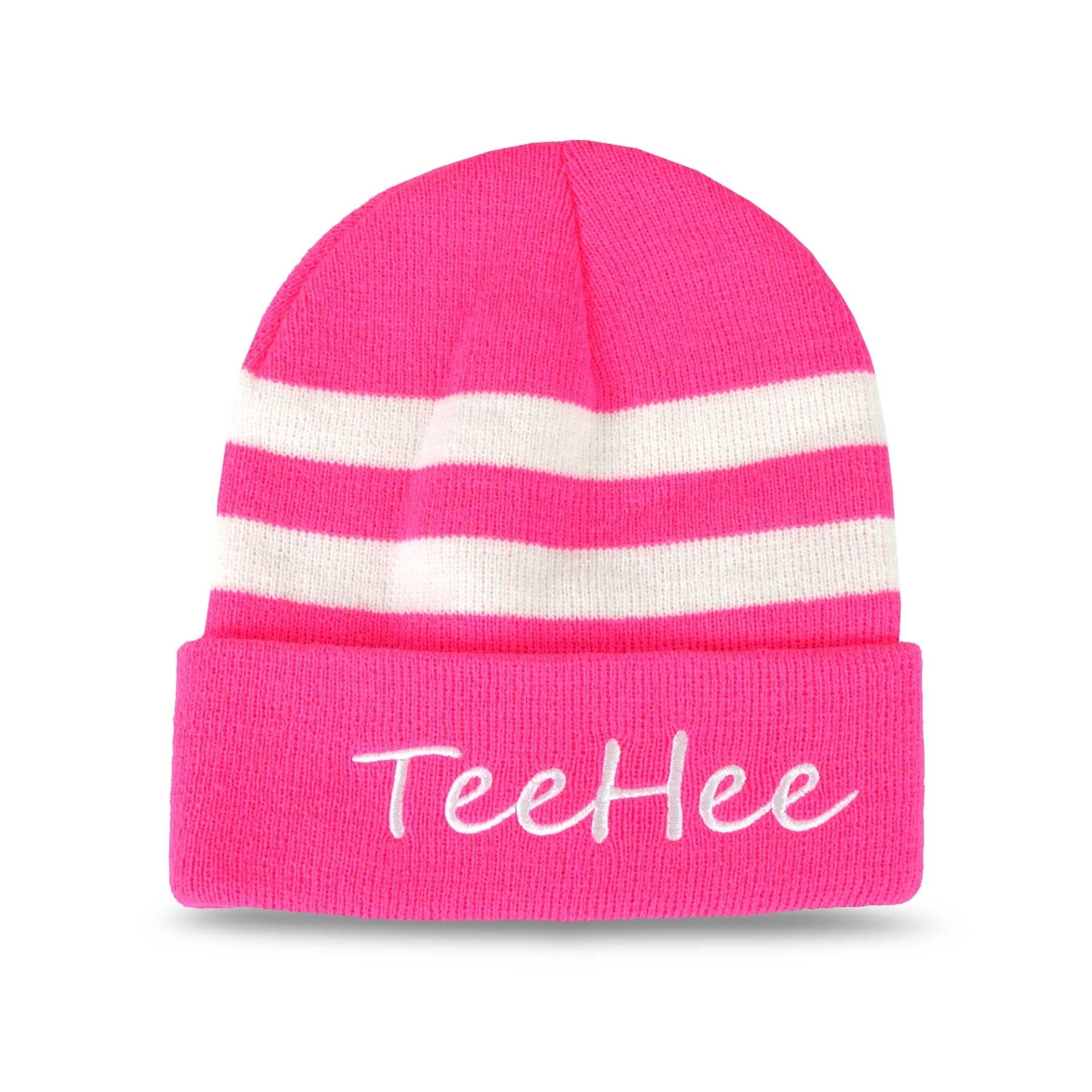 cb987f75a1467 Shop TeeHee Fun and Fashionable Cuffed Fold Beanie Hat 3-Pack - Free  Shipping On Orders Over  45 - Overstock.com - 20455004