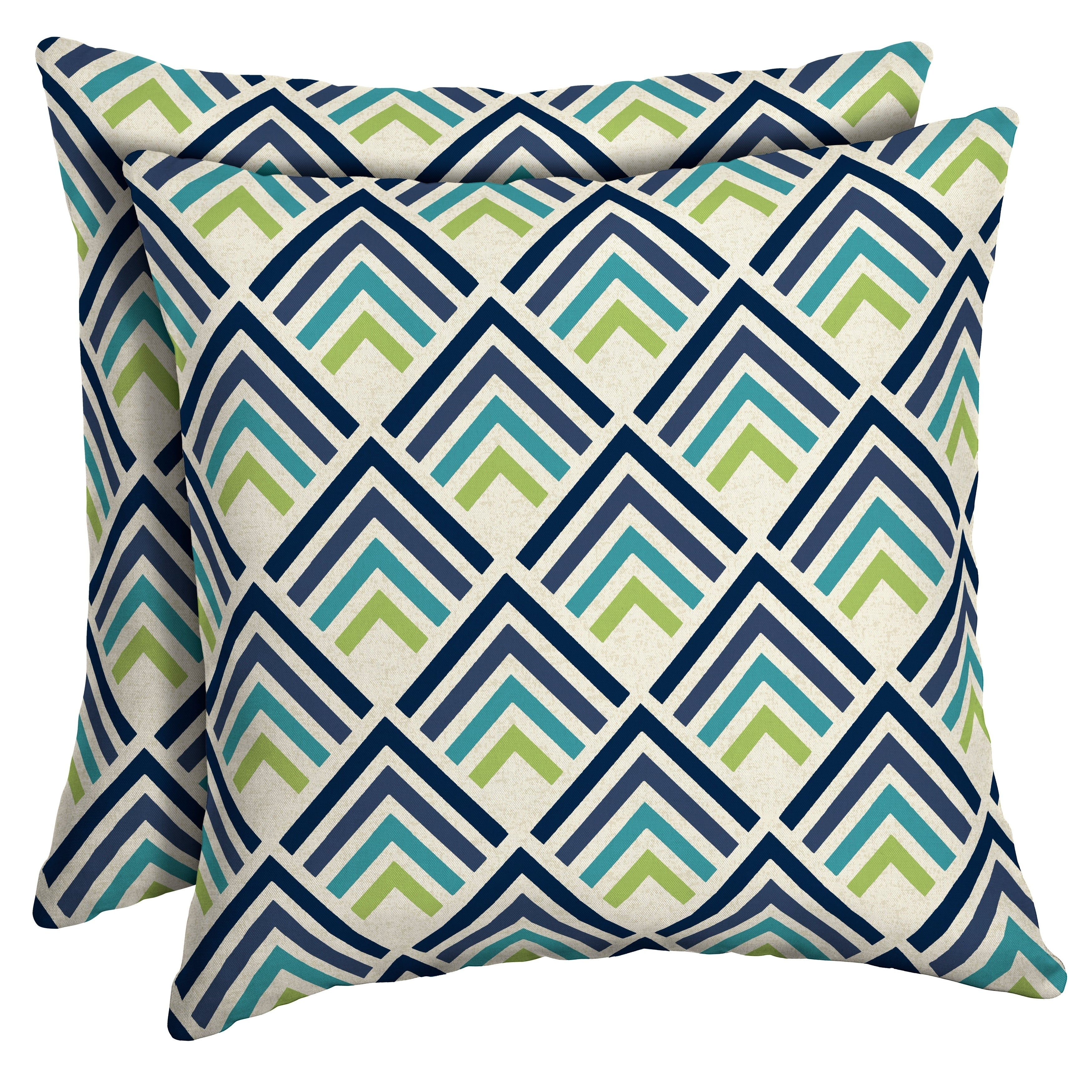 Shop Arden Selections Sapphire Reid Diamond Outdoor Square Pillow