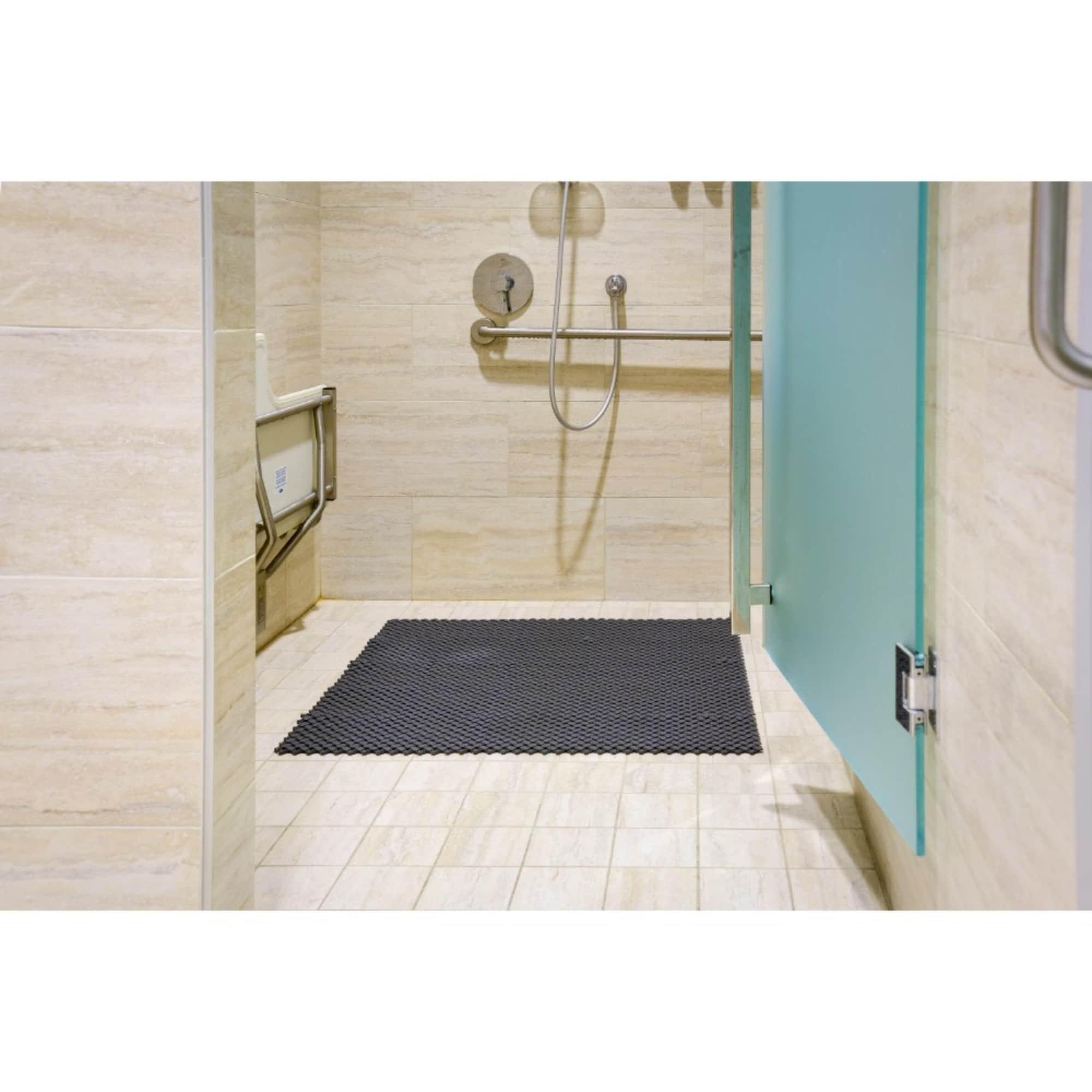 Shop Mats Inc Aqua Safe Wet Area Interlocking Floor Tile 8 X 8