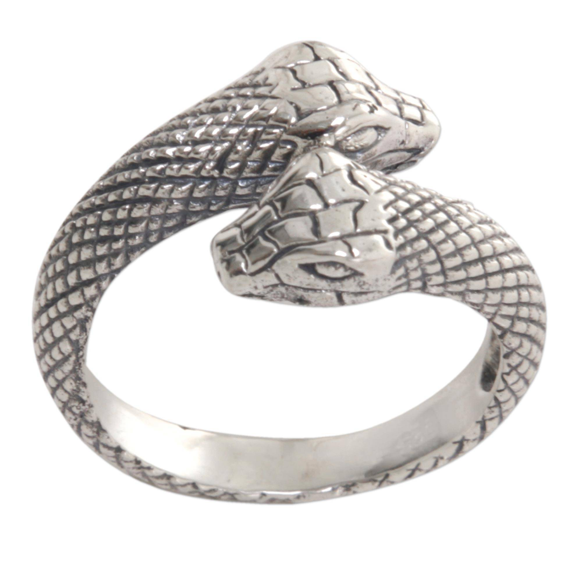 ring women jewelry lyst none gallery normal roberto rings in serpent cavalli metallic product s