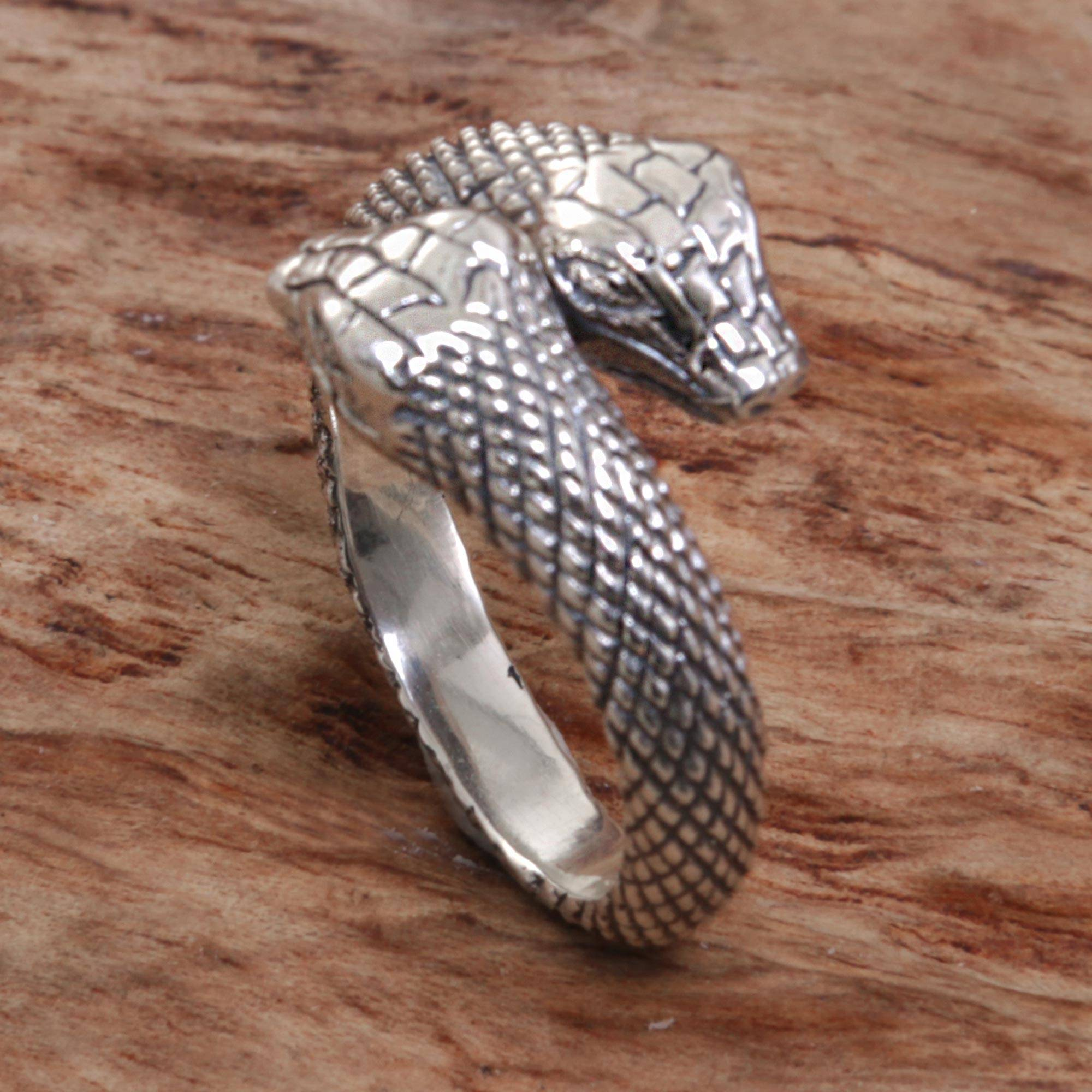ring serpent youtube snake rings watch wirework
