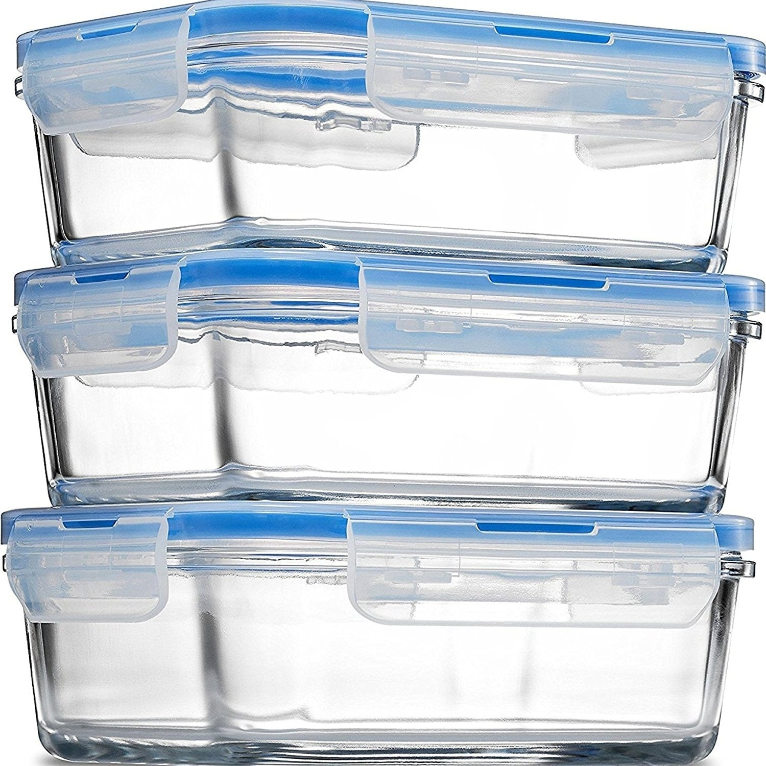Shop Glass Meal Prep Food Storage Containers Superior Borosilicate