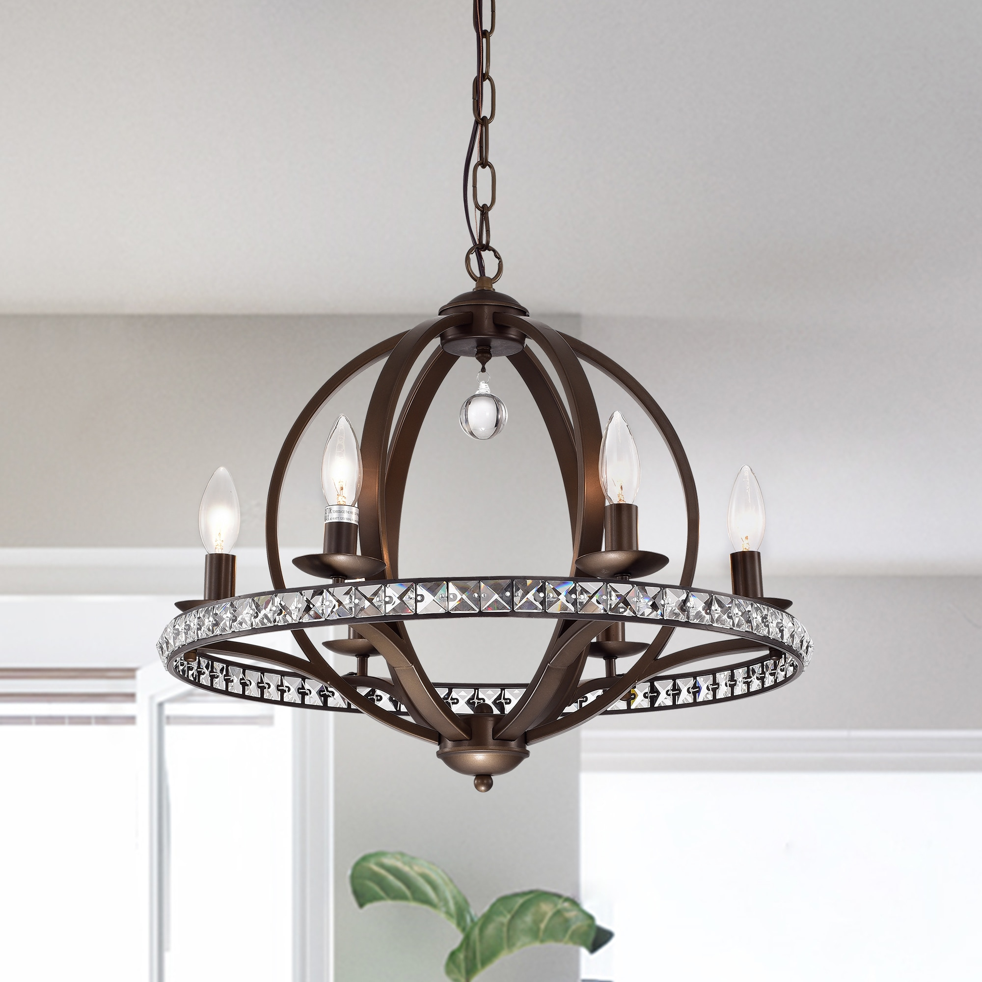 Lovi 6 Light Antique Bronze Pendant Lamp Free Shipping Today 20466051