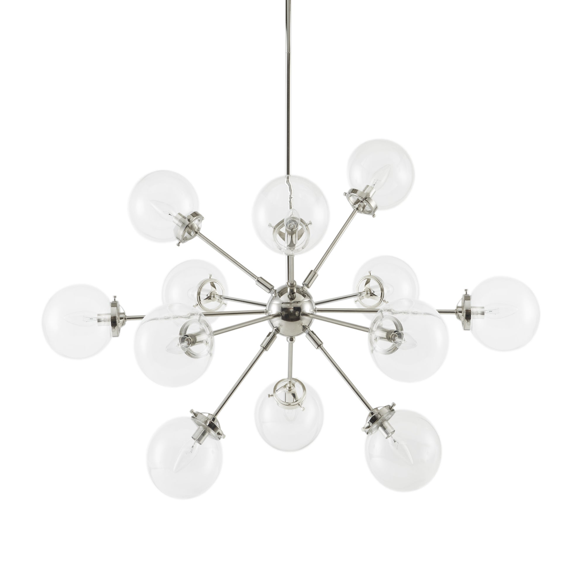 Inkivy paige silver chandelier free shipping today overstock inkivy paige silver chandelier free shipping today overstock 26325243 mozeypictures Images