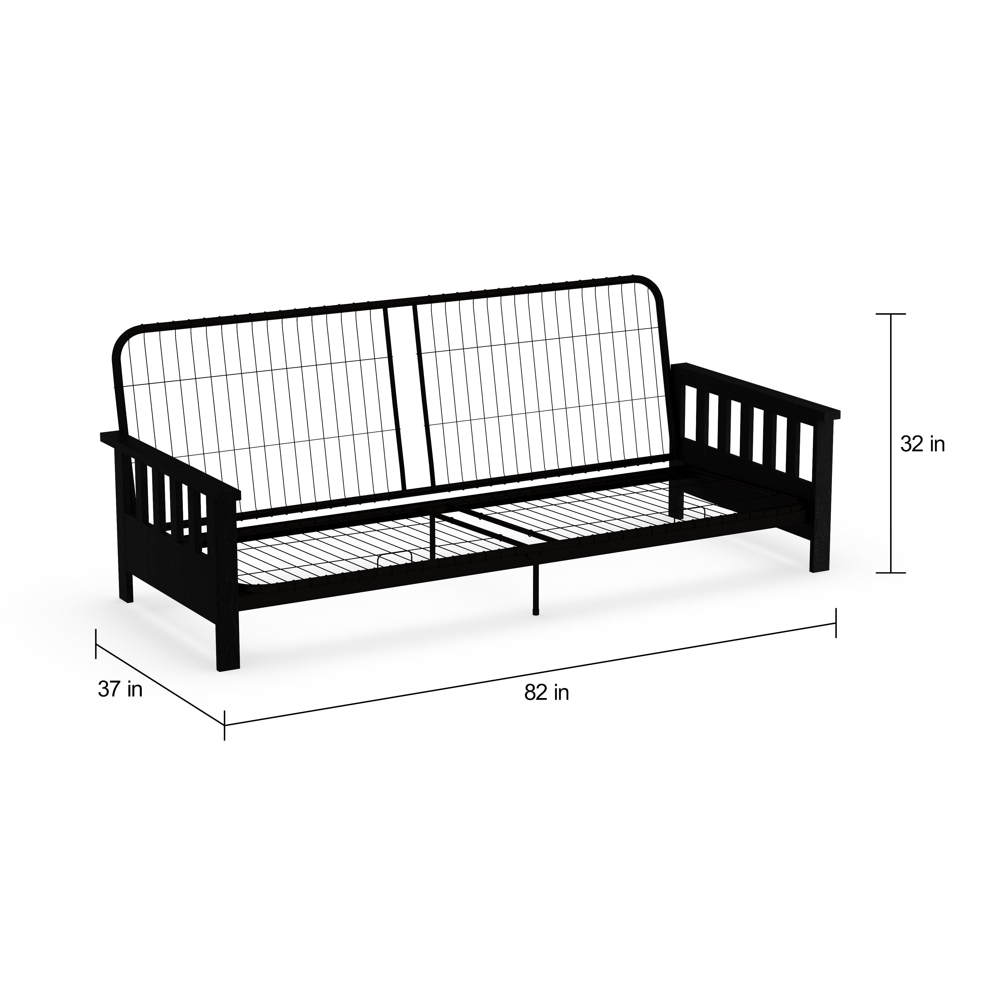 Porch Den Sharp Futon Sofa Sleeper Frame Free Shipping Today Com 20469377
