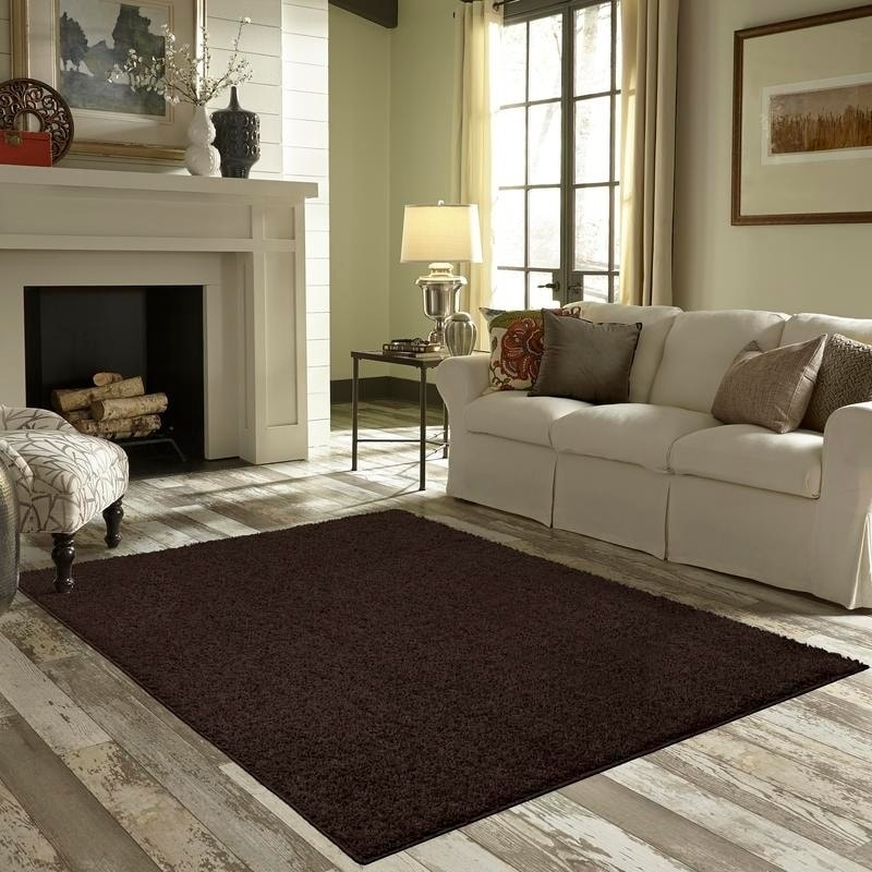 Shop Maples Rugs Jayme Solid Shag Area Rug 7 X 10 On Sale