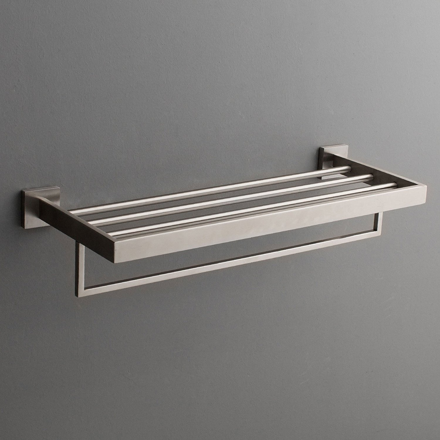 Maykke TriBeCa Wall Mounted Towel Rack Shelf - Free Shipping Today ...