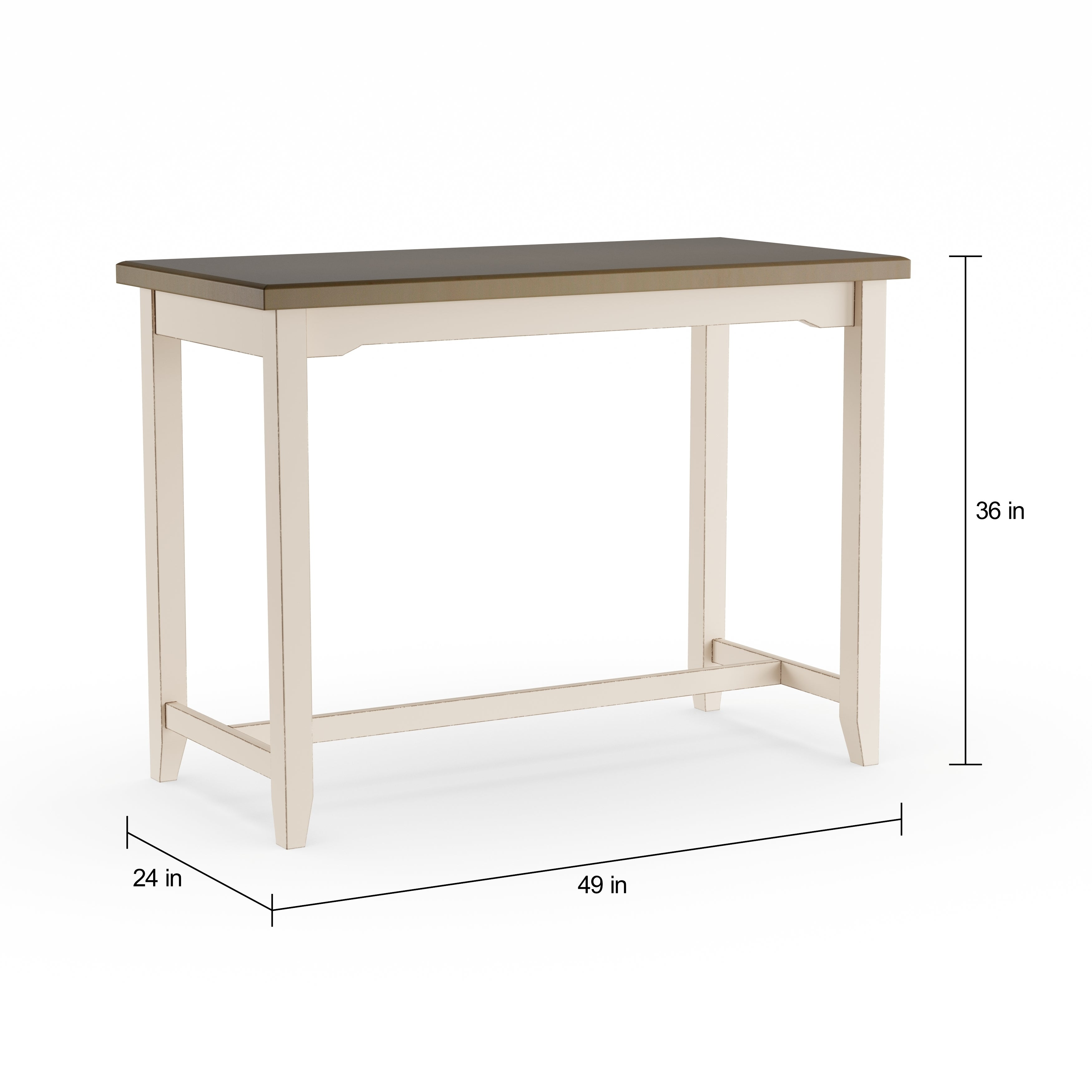 Delicieux Shop The Gray Barn Steeplechase Counter Height Grey Side Table   Free  Shipping Today   Overstock   20488125