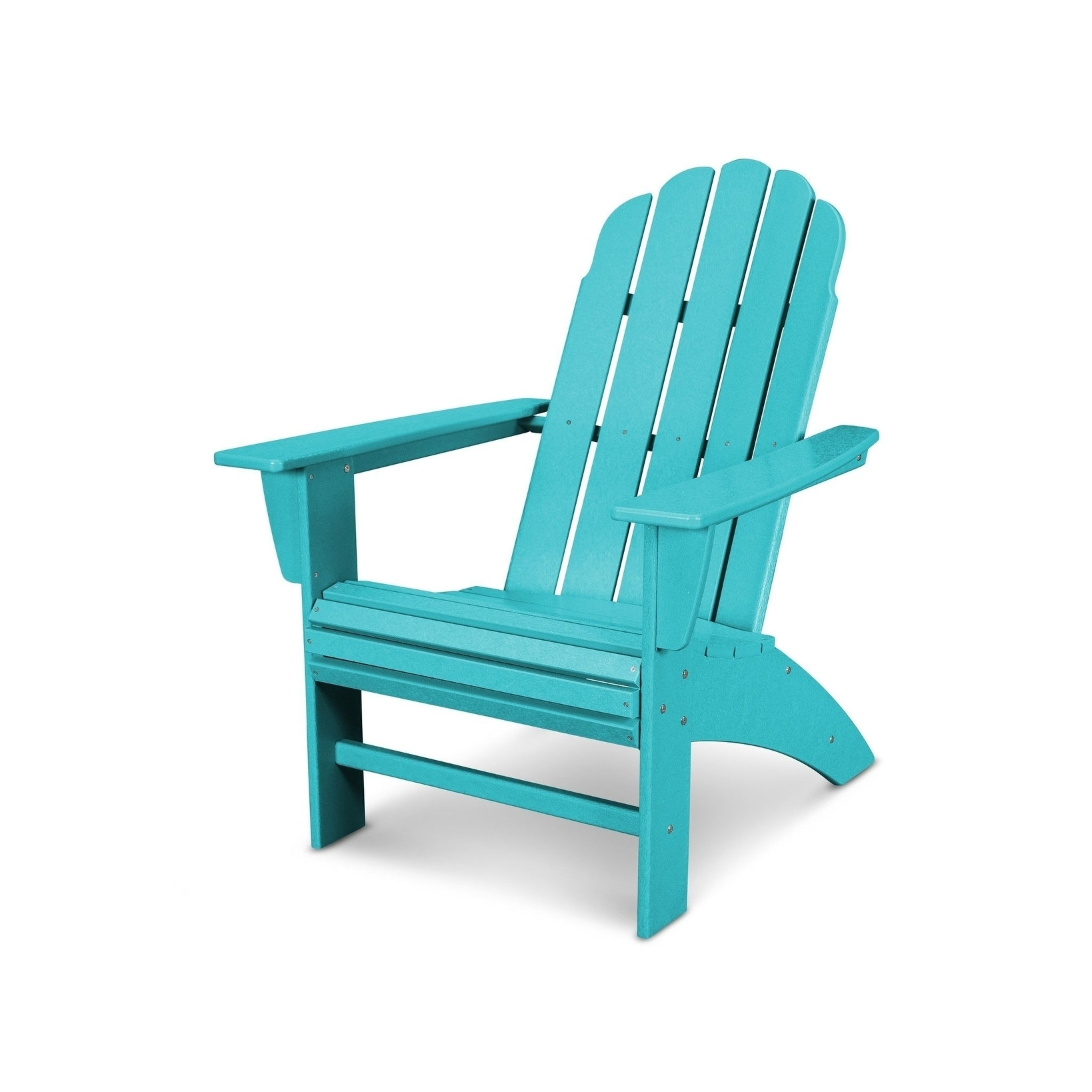 POLYWOOD Vineyard Outdoor Curveback Adirondack Chair - Free Shipping ...