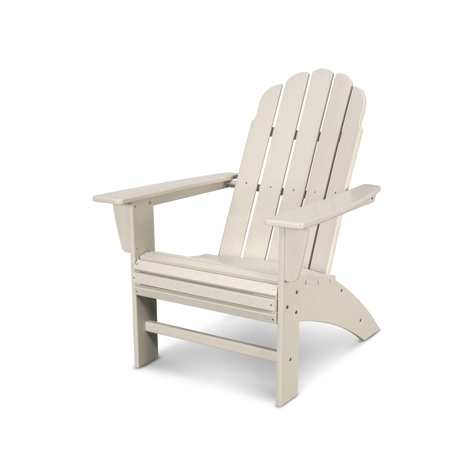 Shop POLYWOOD Vineyard Outdoor Curveback Adirondack Chair   Free Shipping  Today   Overstock.com   20489691