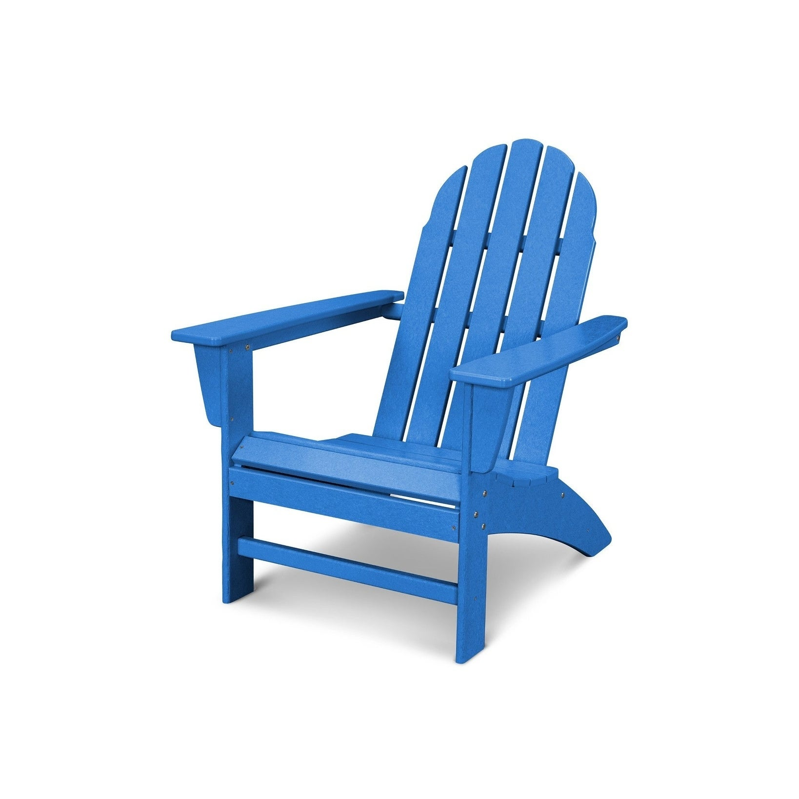 Shop POLYWOOD Vineyard Outdoor Adirondack Chair   Free Shipping Today    Overstock.com   20489699
