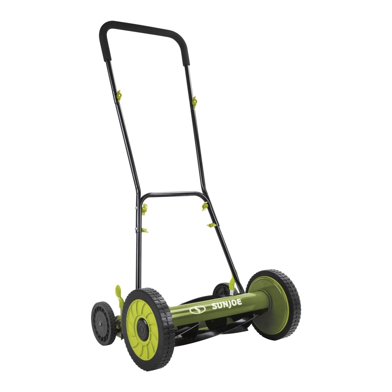 Shop Sun Joe MJ504M Manual Reel Mower w/o Grass Catcher - Free Shipping  Today - Overstock.com - 20497490
