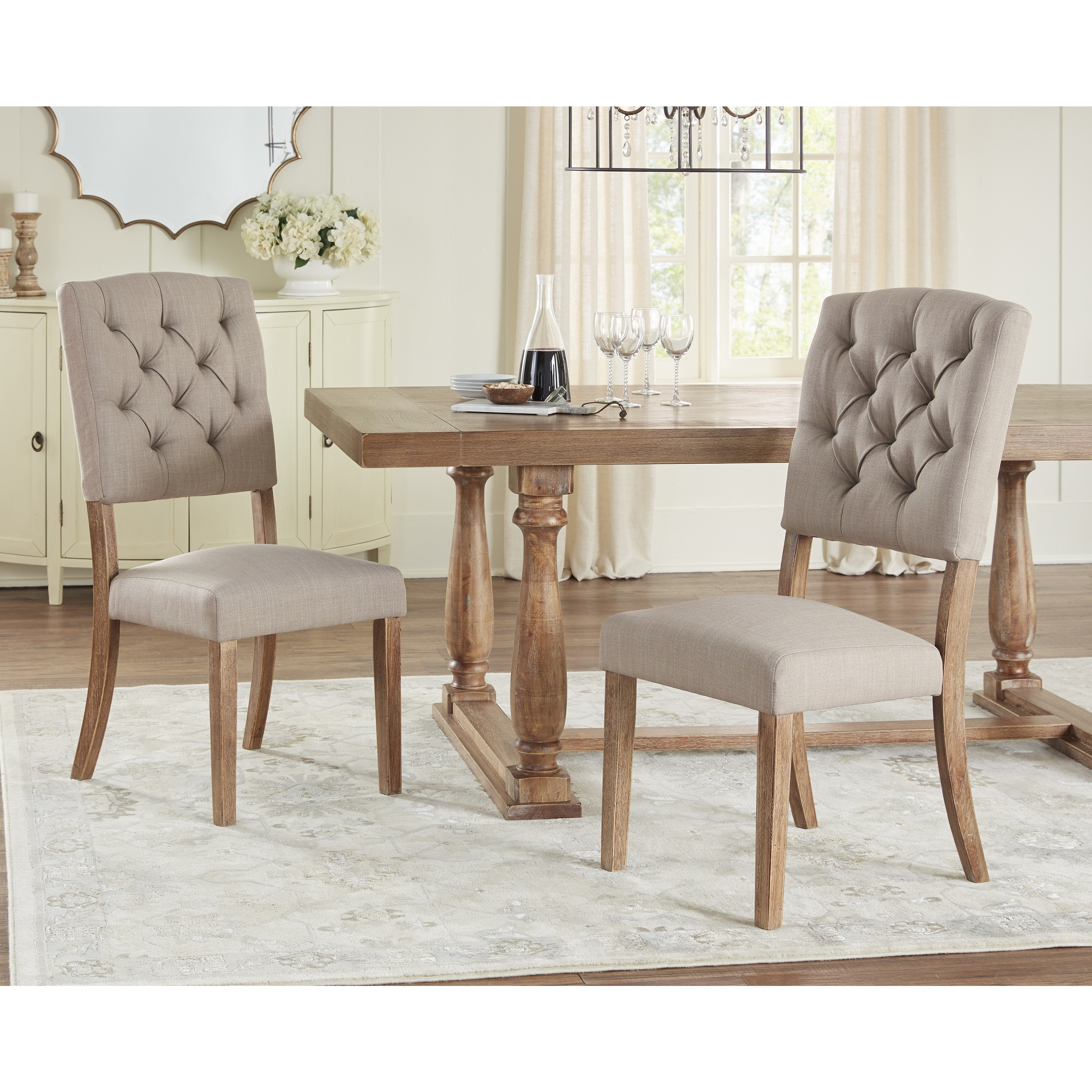 Lifey Heritage Dining Chair Set Of 2
