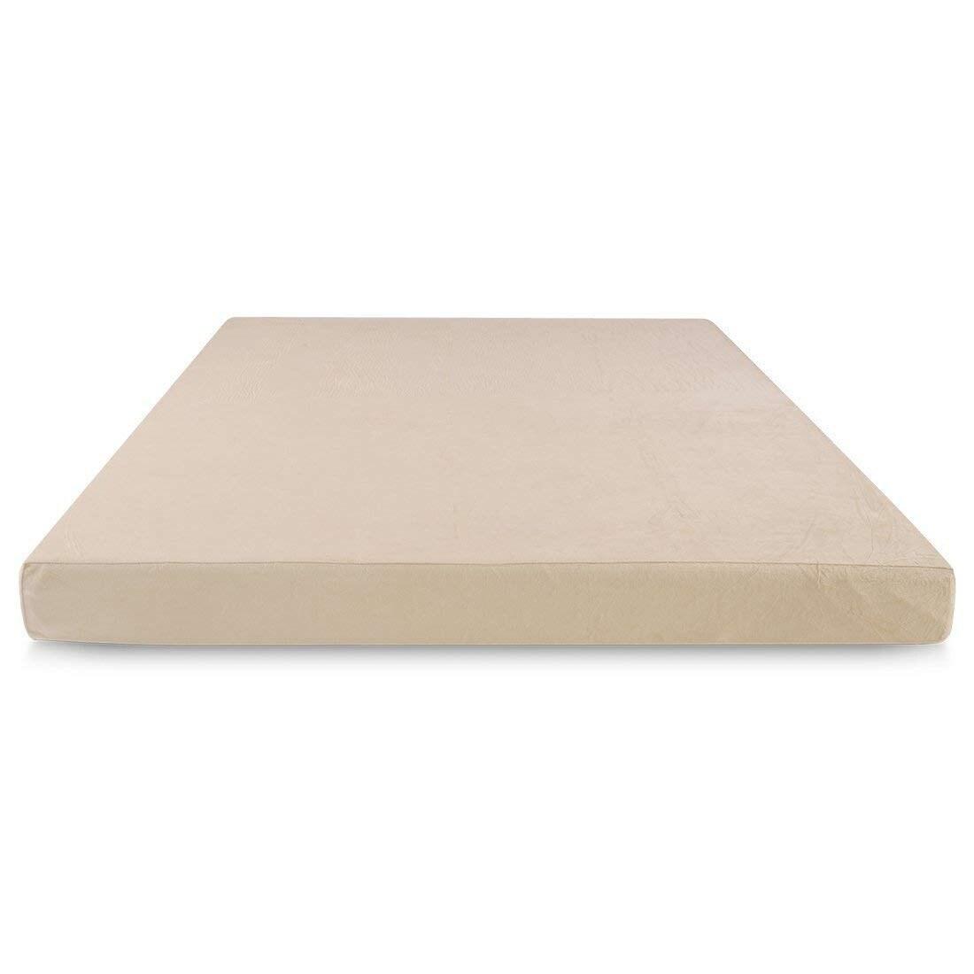 cr sleep beige 5 inch full size memory foam mattress free shipping