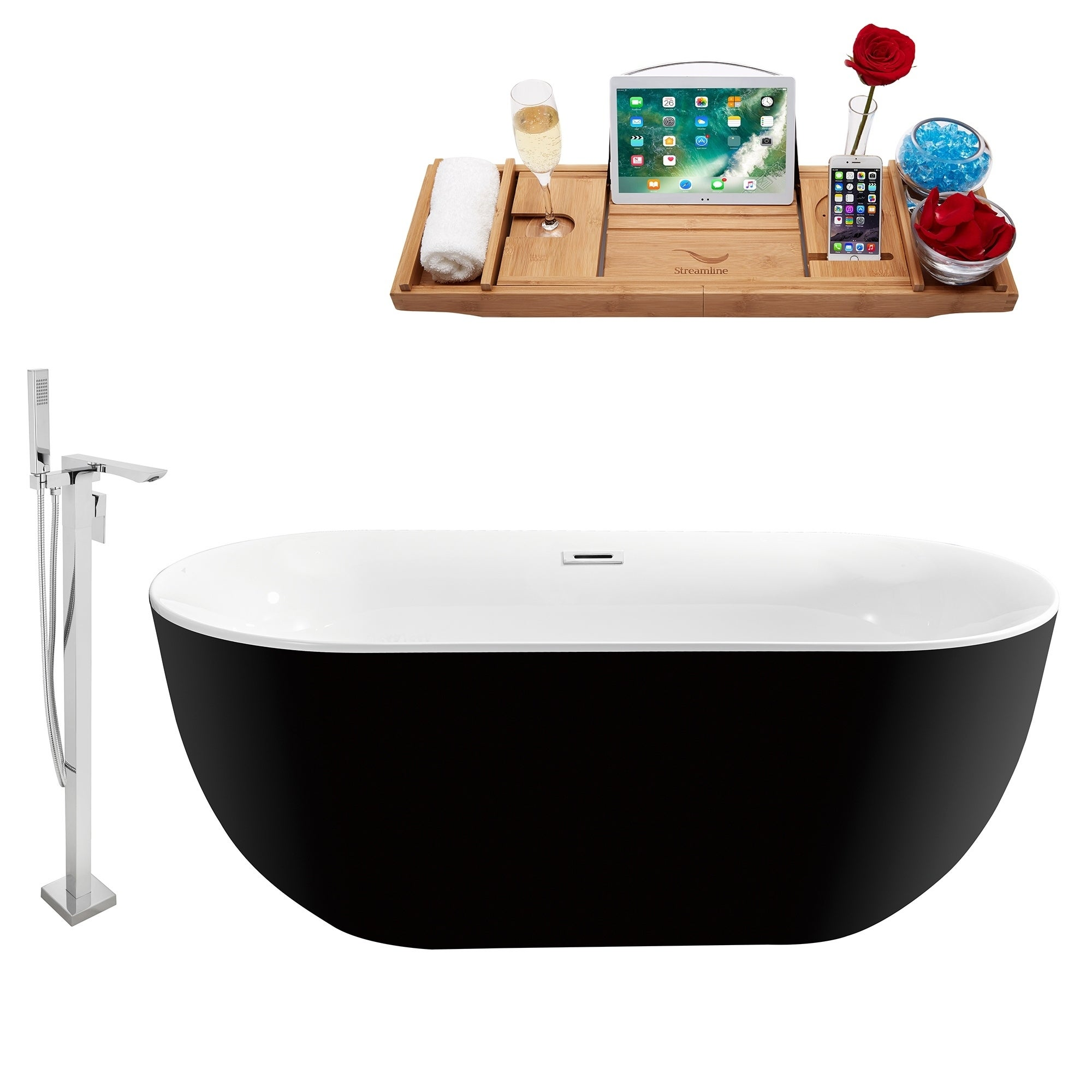 Shop Tub, Faucet and Tray Set Streamline 59\