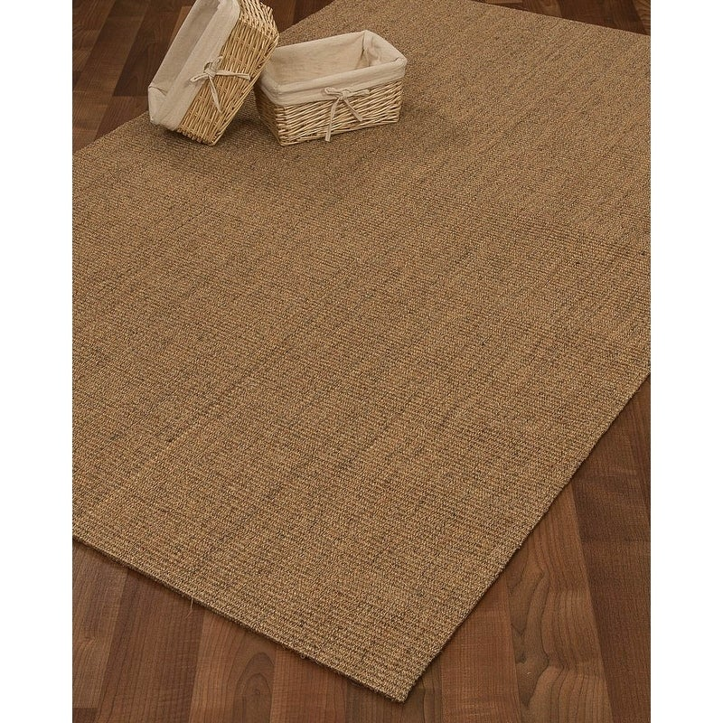 Naturalarearugs Natural Fiber Pavillion Sisal Rug Self Bound Non Slip Latex Backing Naturally Stain Resistant 5 X 8 Free Shipping Today