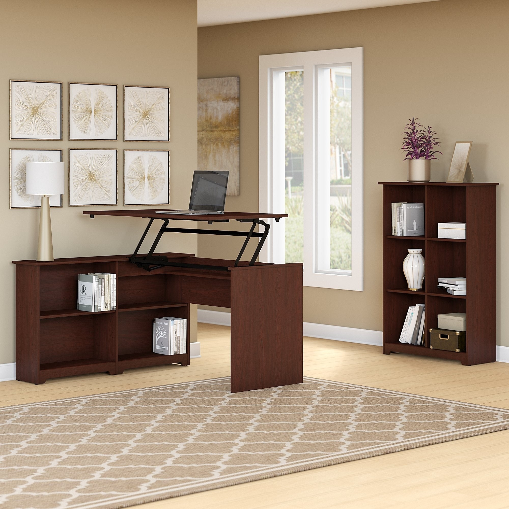 built combo and bookshelf entertainment piece ideas leaning six with center home house bookshelves in desk computer
