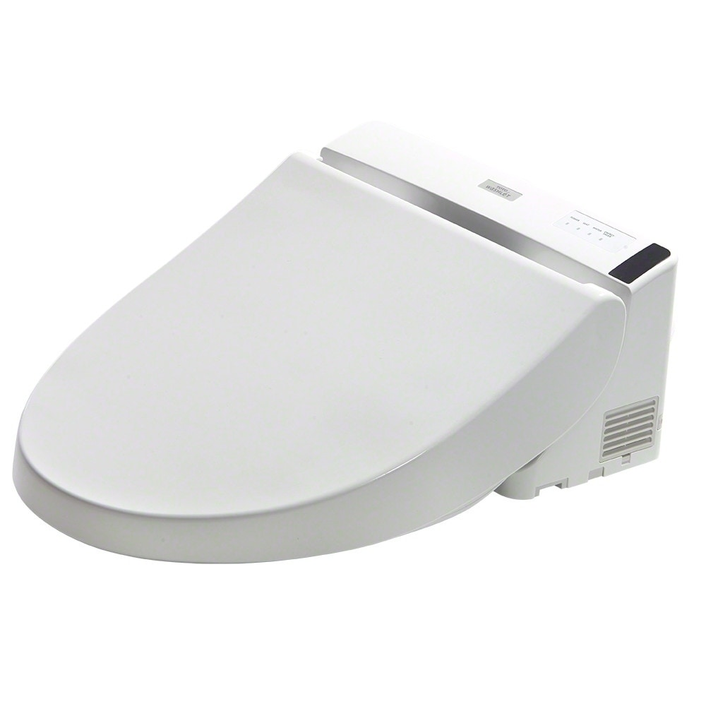 Shop TOTO® Washlet® A200 Elongated Bidet Toilet Seat, Cotton White ...
