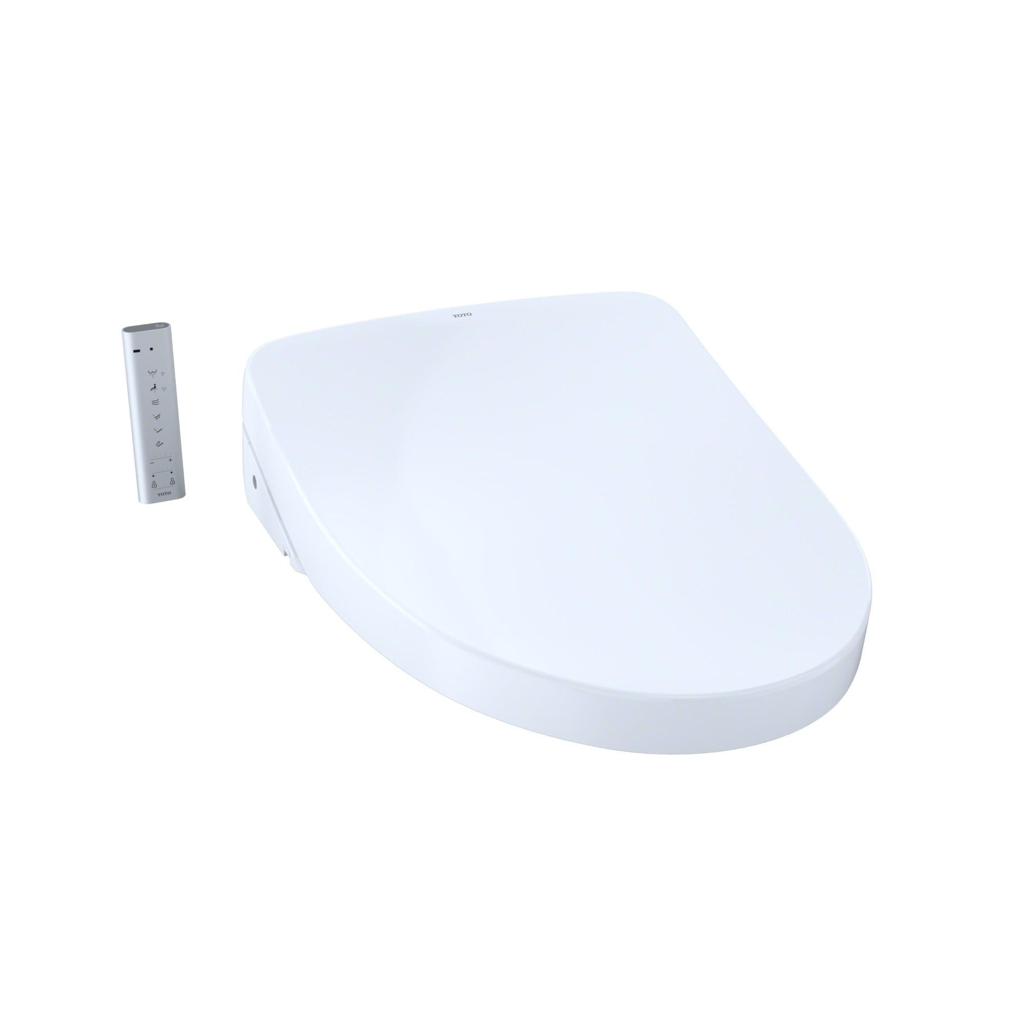 Shop TOTO WASHLET+ S550e Elongated Bidet Toilet Seat with ewater+ ...
