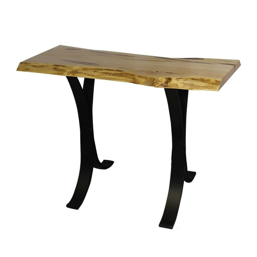 Wormy Brown Maple Sofa Table With Eclipse Base Free Shipping Today 26378845