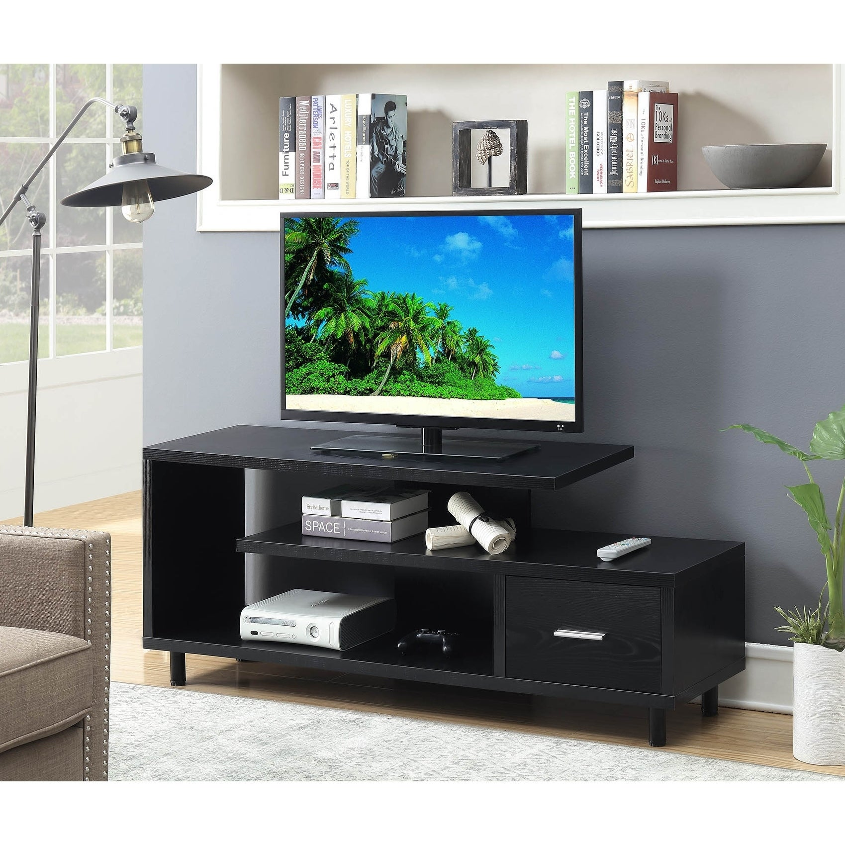 Expo Tv Stands : Trade show tv stand knockdown designs with travel cases