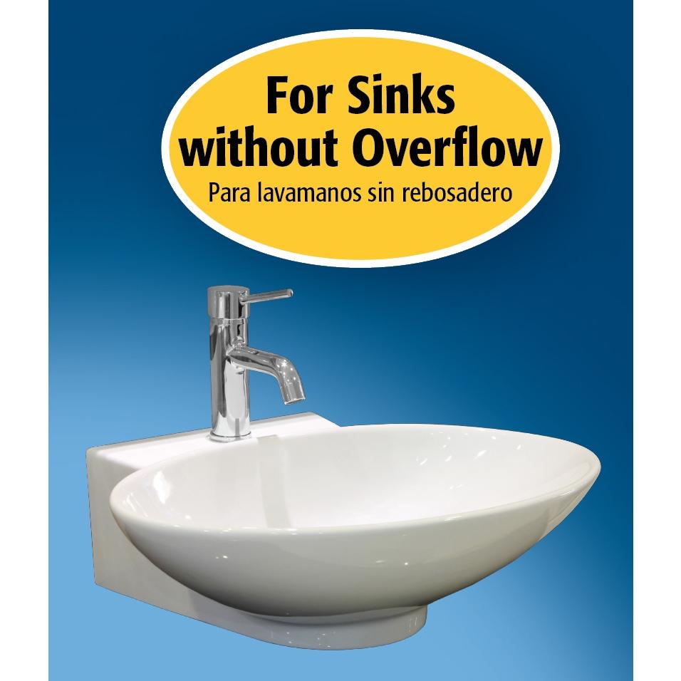 Shop Keeney K820-76 Universal Push Button Bathroom Sink Drain ...