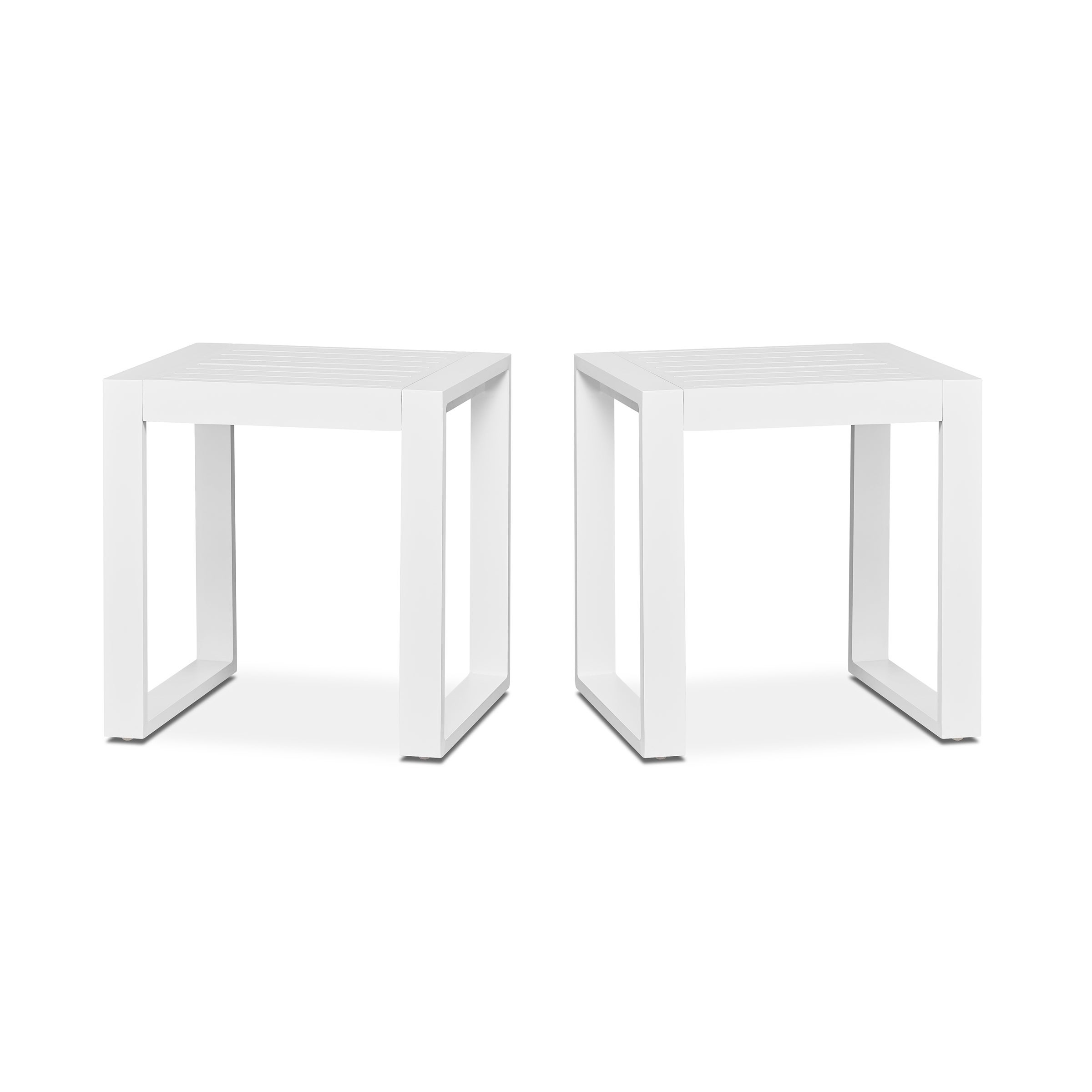 Real Flame Baltic Set Of 2 End Tables White   Free Shipping Today    Overstock   26398144