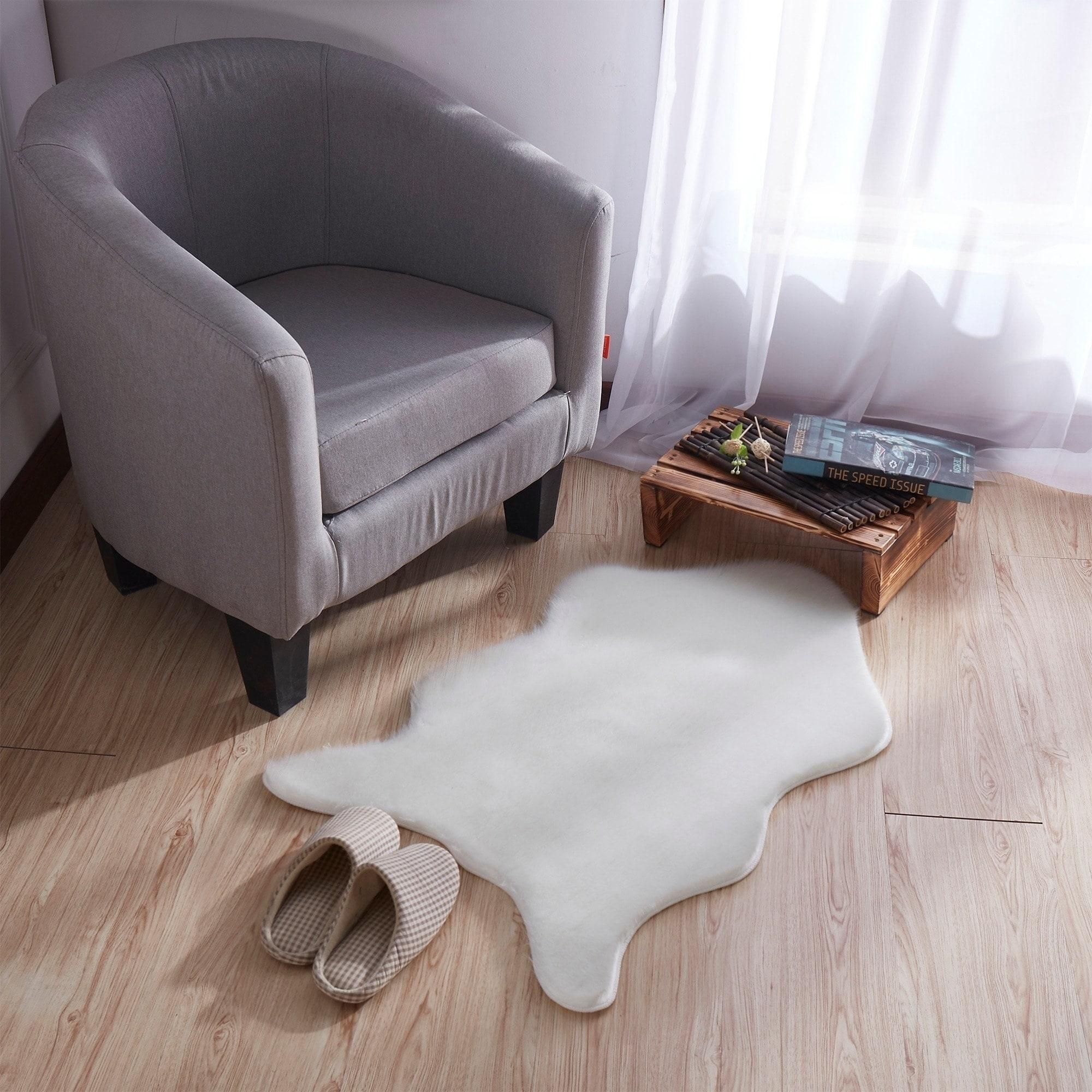 Attirant Shop Ottomanson Soft Faux Sheepskin Chair Cover Seat Pad Shag Rug   2u0027 X 3u0027    Free Shipping On Orders Over $45   Overstock.com   20554310
