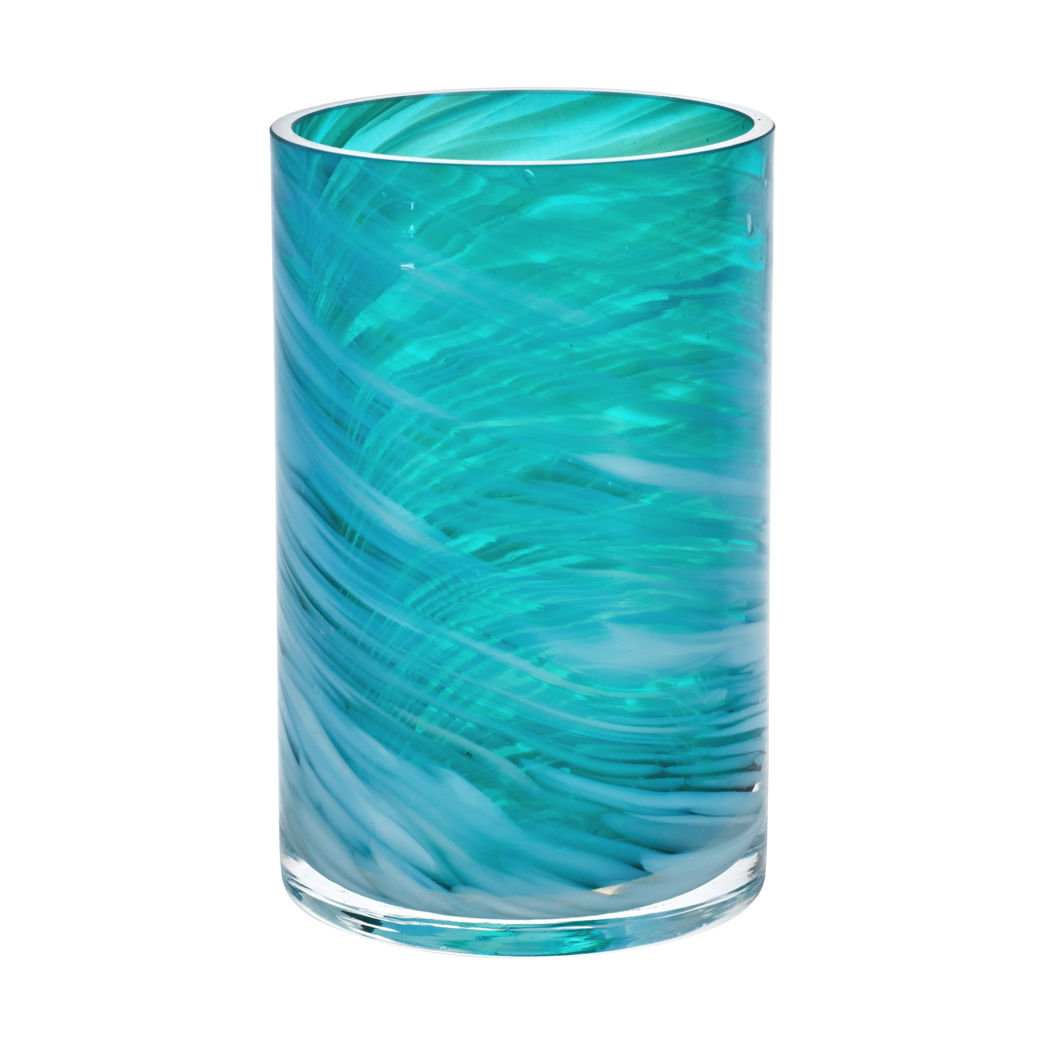 Shop Five Queens Court Caribbean Reef Handmade Glass Bathroom Accessories    On Sale   Free Shipping On Orders Over $45   Overstock.com   20555029
