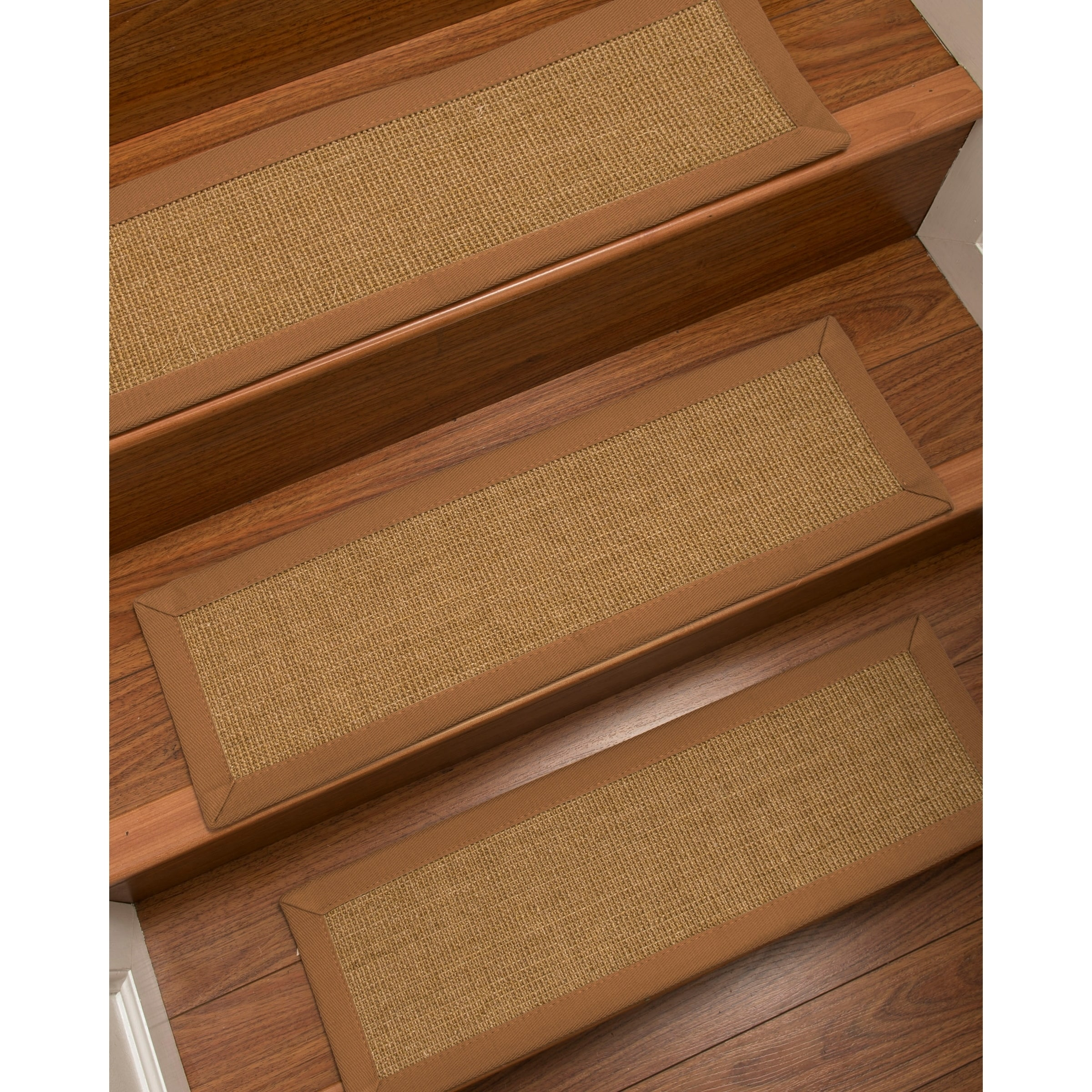 Shop Naturalarearugs Moda Carpet Stair Treads Set Of 13 9 X 29
