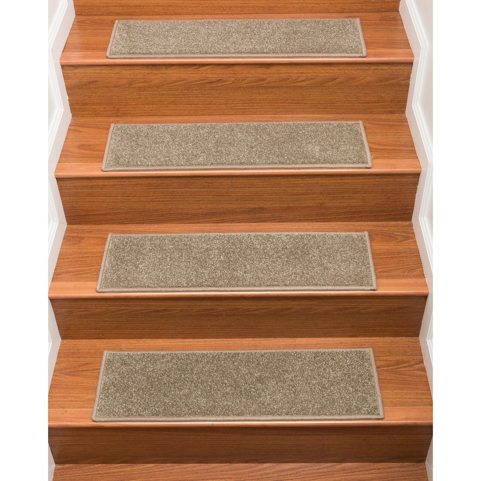 Naturalarearugs Hand Crafted Malvern Carpet Stair Treads Set Of 13 9 X 29 Free Shipping Today 20558440
