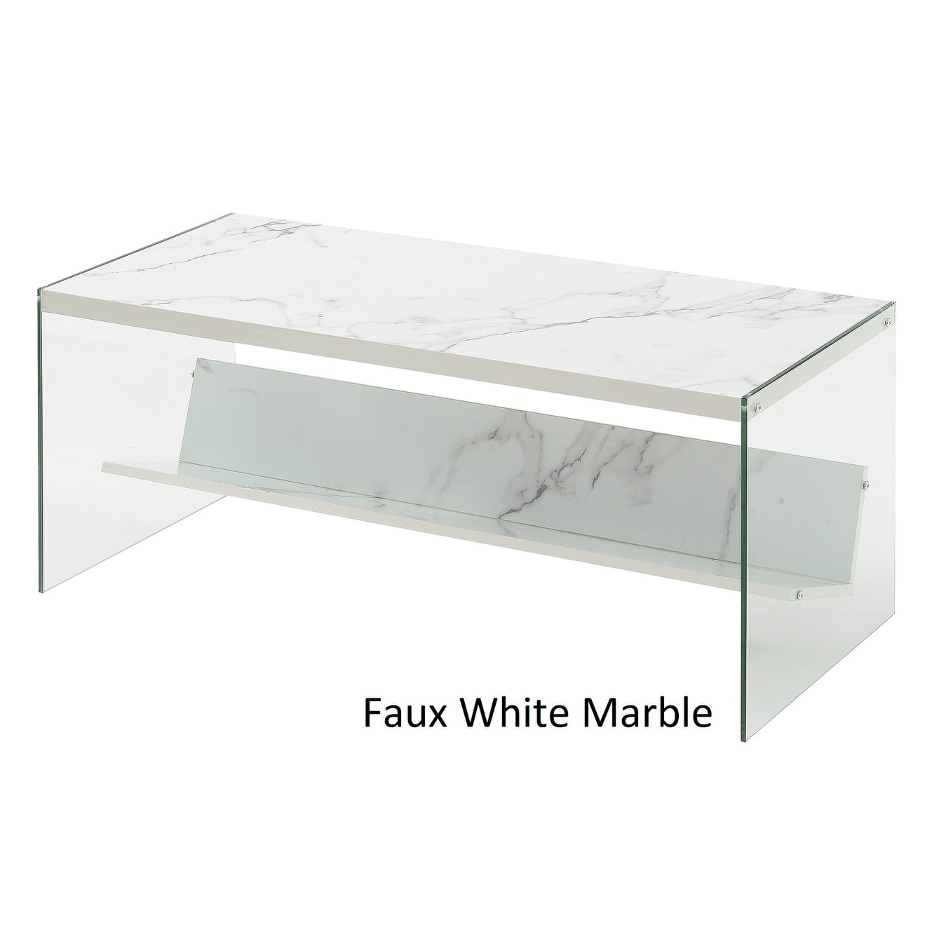 Shop Porch U0026 Den Bywater Urquhart Wood/ Glass Coffee Table   On Sale   Free  Shipping Today   Overstock.com   20559161