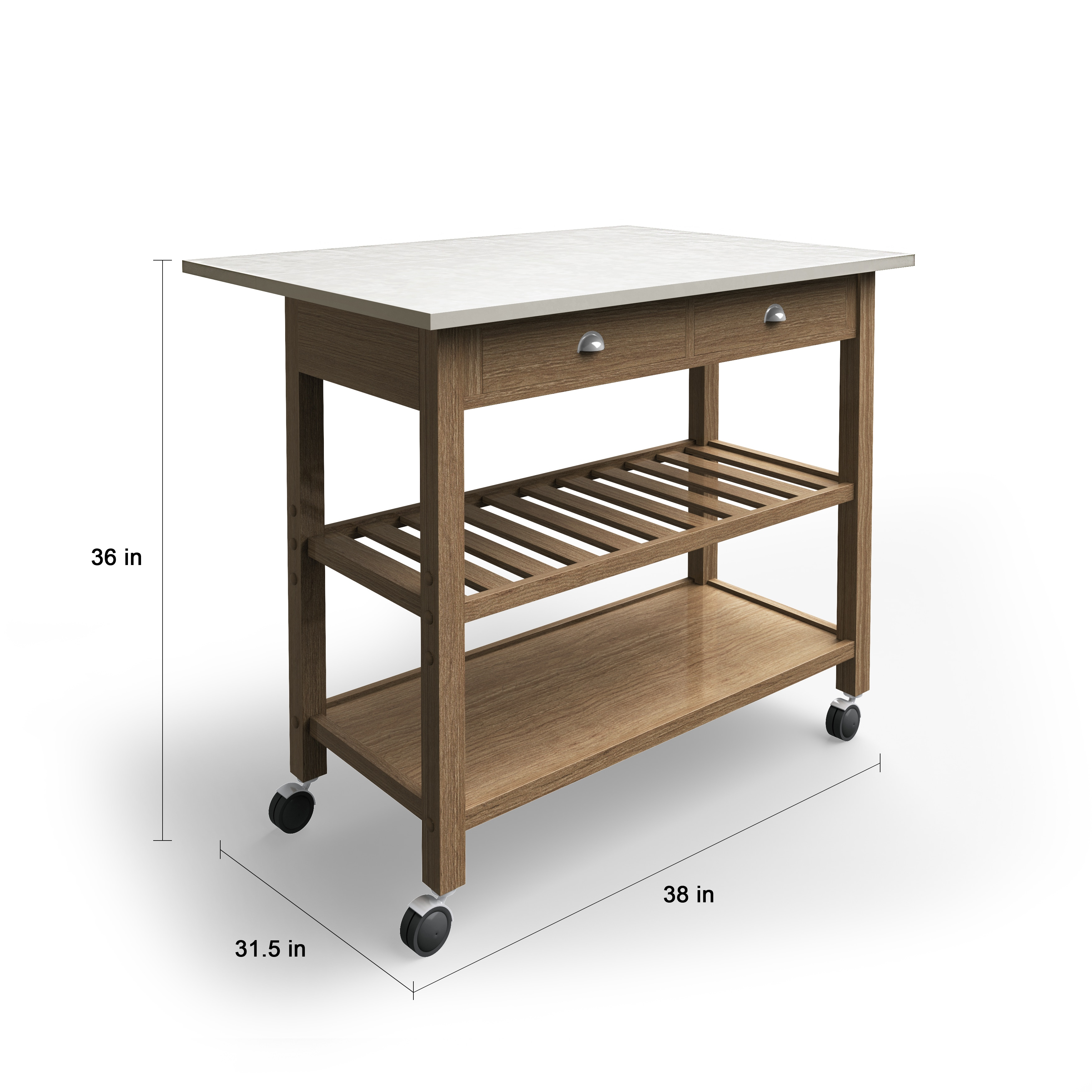 Shop the gray barn firebranch wood and stainless steel drop leaf kitchen cart free shipping today overstock com 20559196