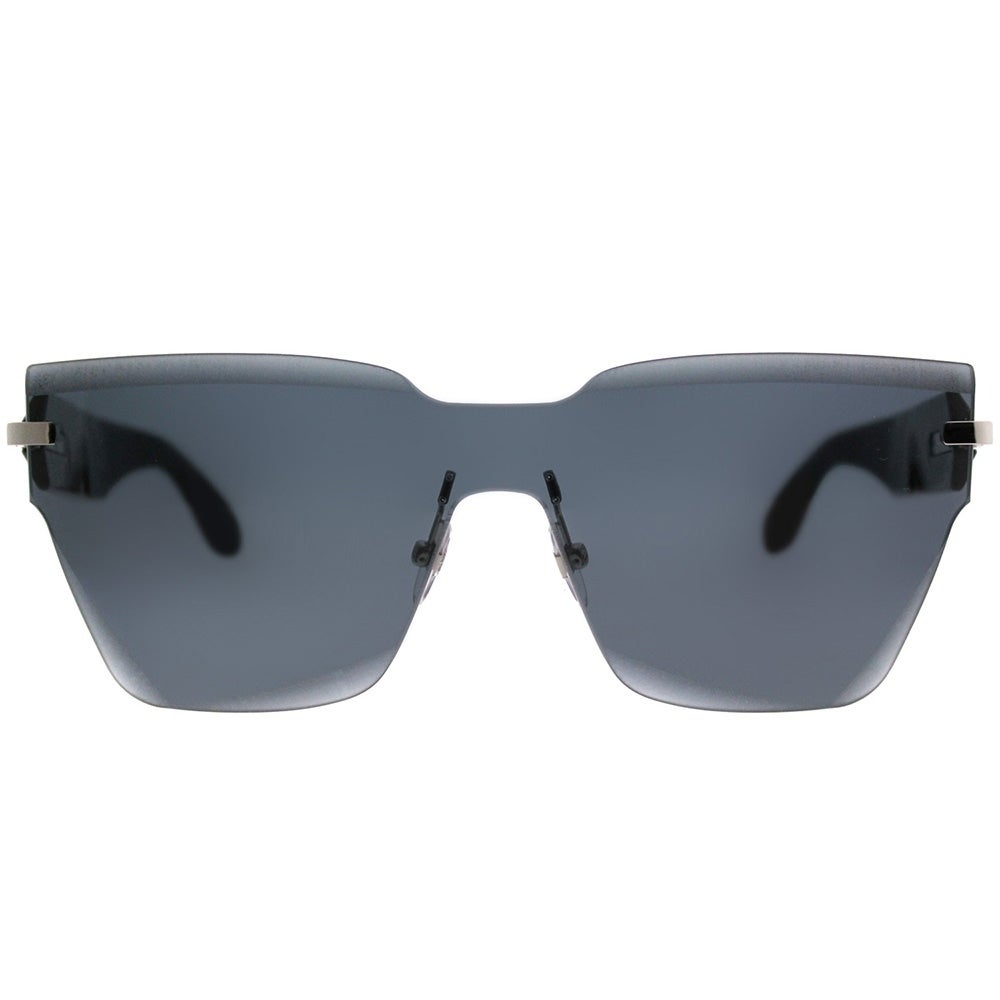 d4ef7fbdcb Shop Givenchy Square GV 7081 R6S Unisex Black Frame Grey Lens Sunglasses -  Free Shipping Today - Overstock - 20562431