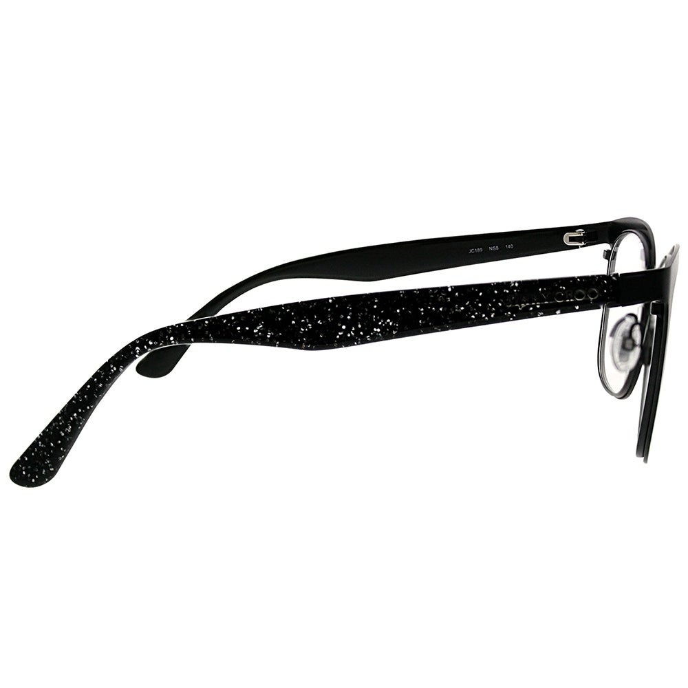 36cd81de803a Shop Jimmy Choo Square JC 189 NS8 Women Black Glitter Frame Eyeglasses -  Free Shipping Today - Overstock - 20562461