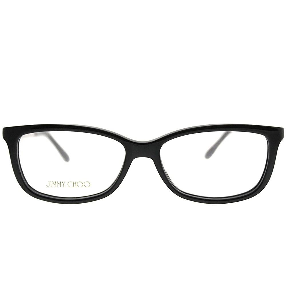 e8d89b5bc5 Shop Jimmy Choo Rectangle JC 190 807 Women Black Frame Eyeglasses - Free  Shipping Today - Overstock - 20562463